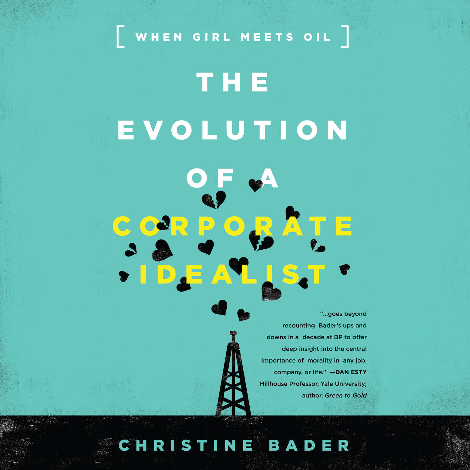 Printable The Evolution of a Corporate Idealist: When Girl Meets Oil Audiobook Cover Art