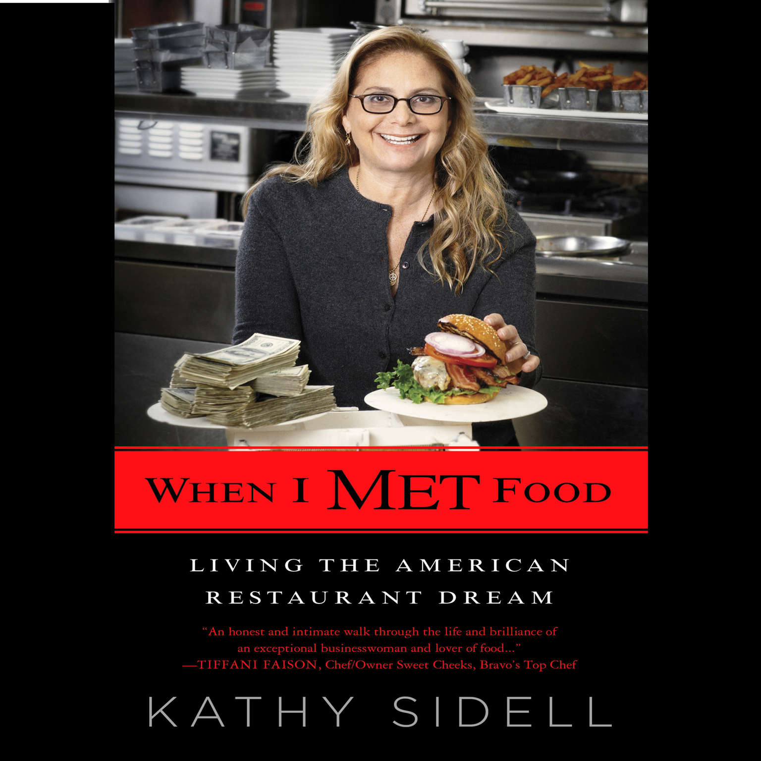 Printable When I Met Food: Living the American Restaurant Dream Audiobook Cover Art