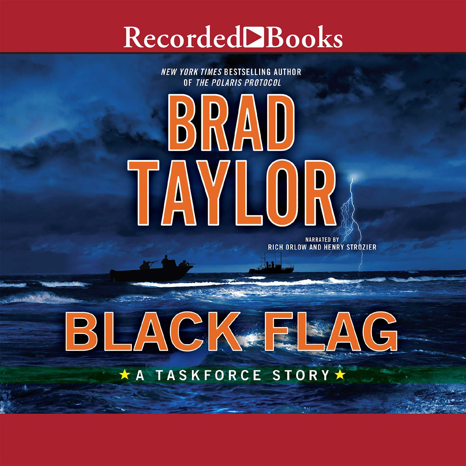 Printable Black Flag: A Taskforce Story Audiobook Cover Art
