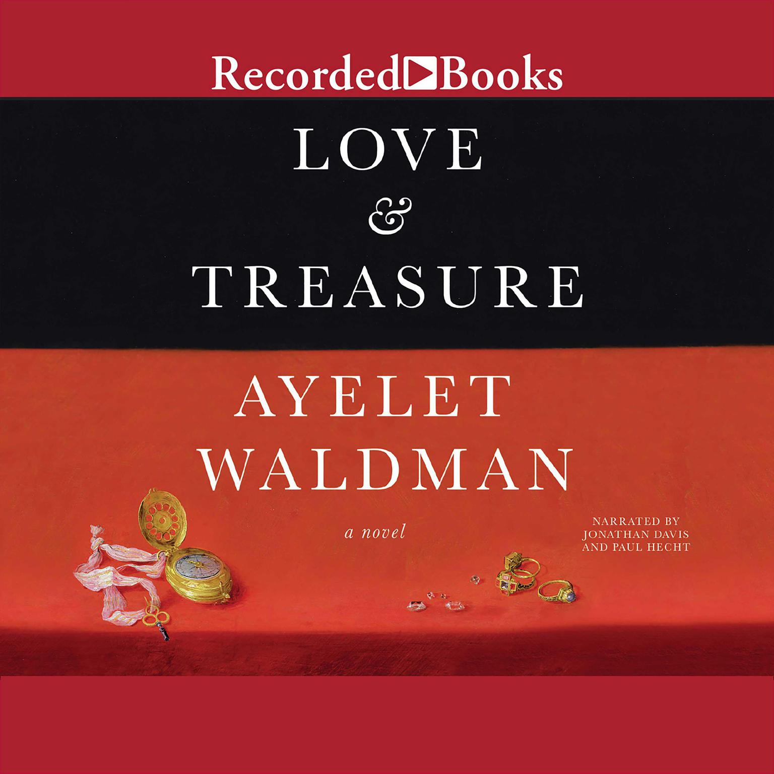 Printable Love and Treasure: A Novel Audiobook Cover Art