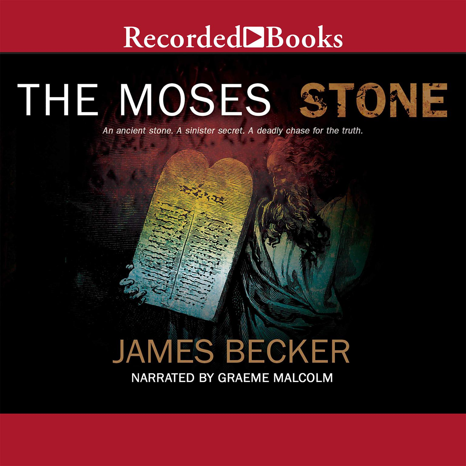 Printable The Moses Stone Audiobook Cover Art
