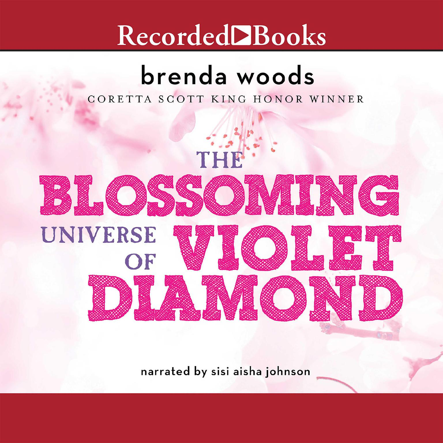 Printable The Blossoming Universe of Violet Diamond Audiobook Cover Art