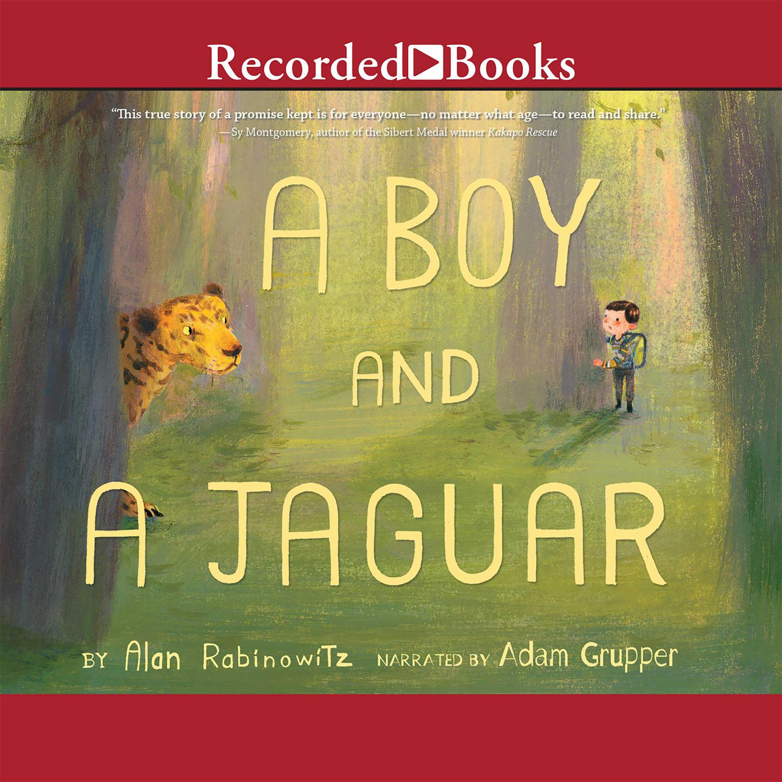 Printable A Boy and a Jaguar Audiobook Cover Art