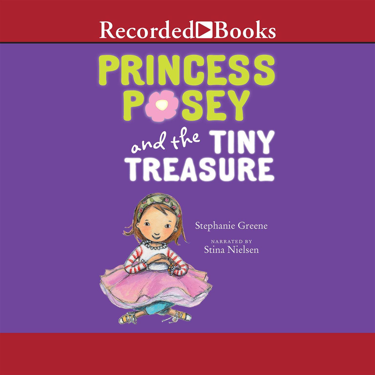 Printable Princess Posey and the Tiny Treasure Audiobook Cover Art