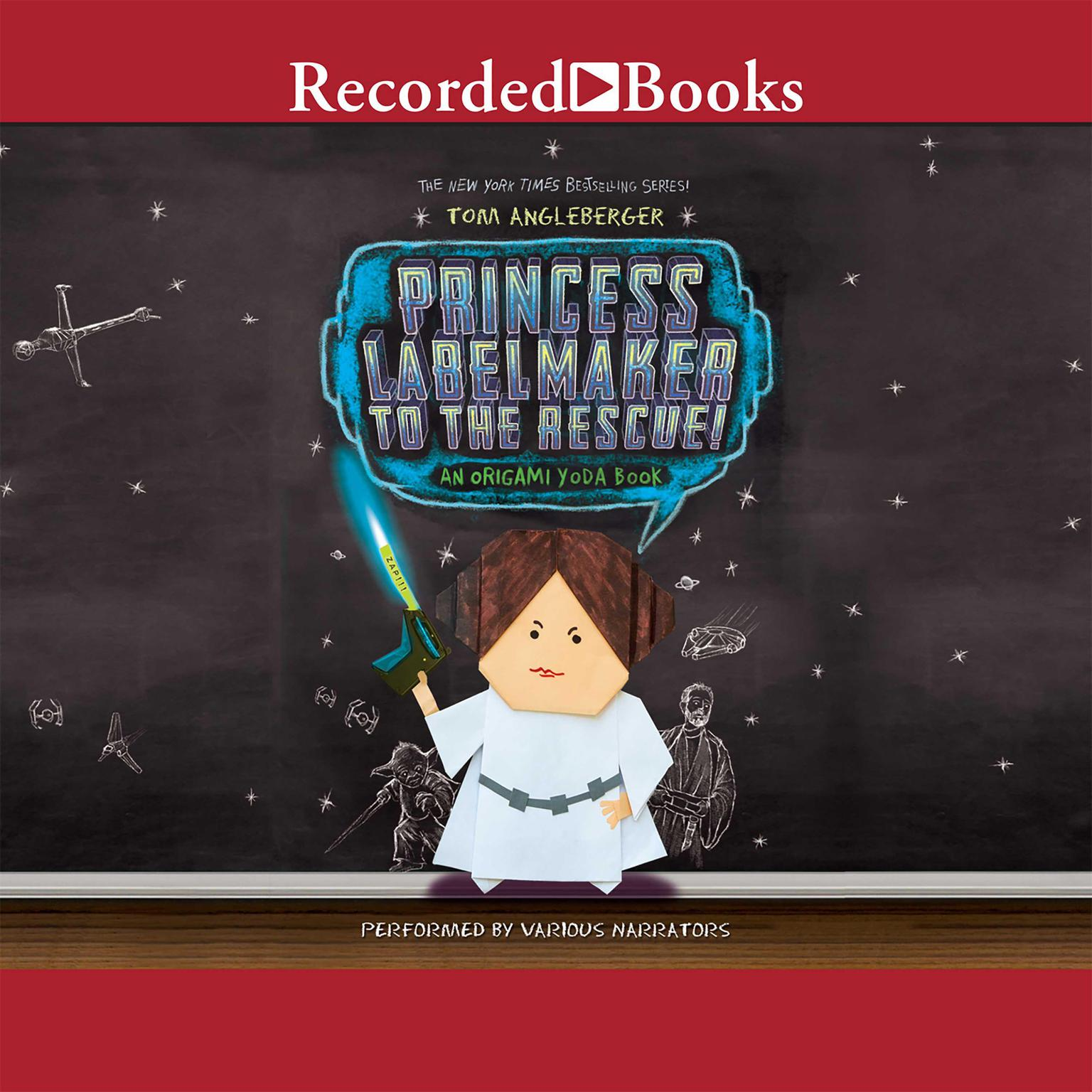 Printable Princess Labelmaker to the Rescue Audiobook Cover Art