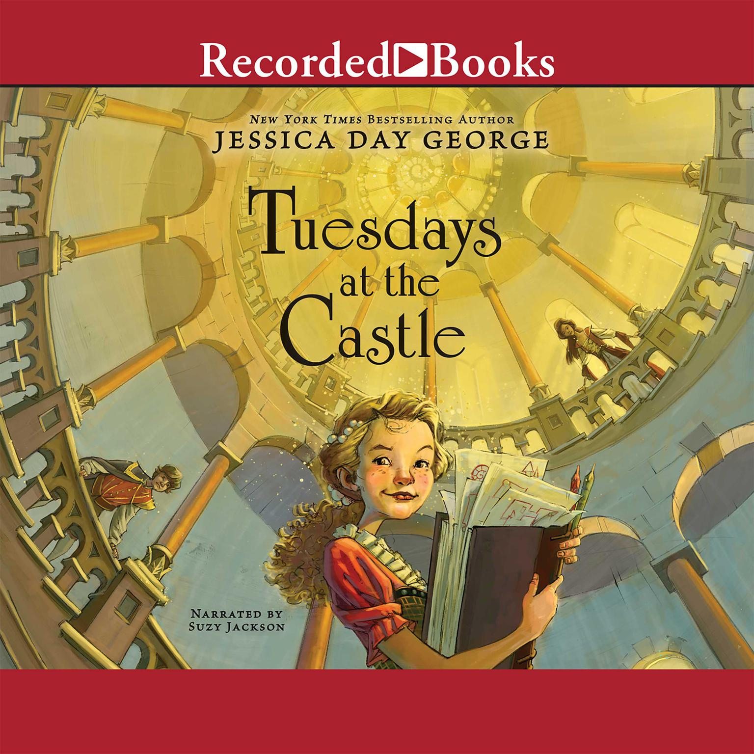 Printable Tuesdays at the Castle Audiobook Cover Art
