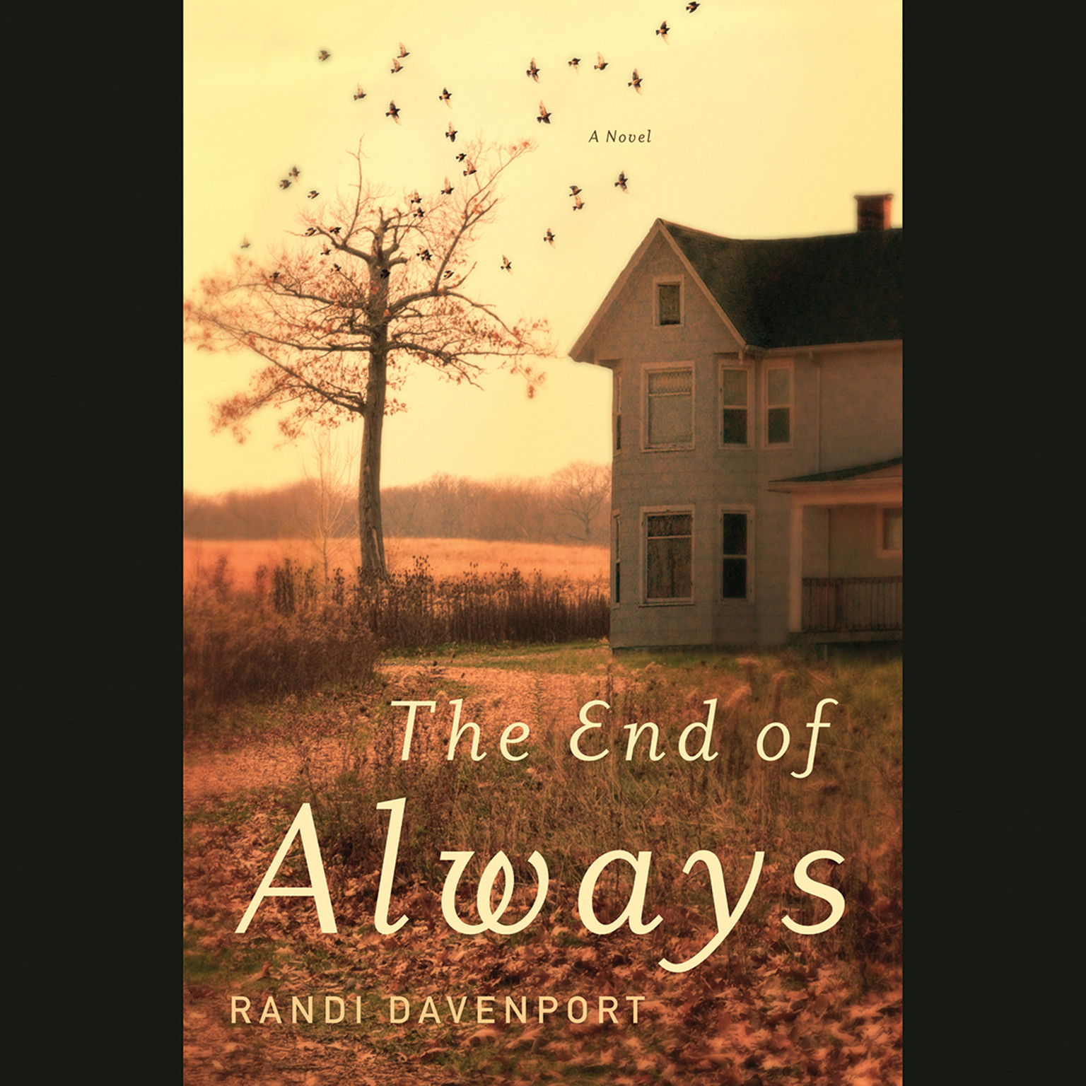 Printable The End of Always: A Novel Audiobook Cover Art