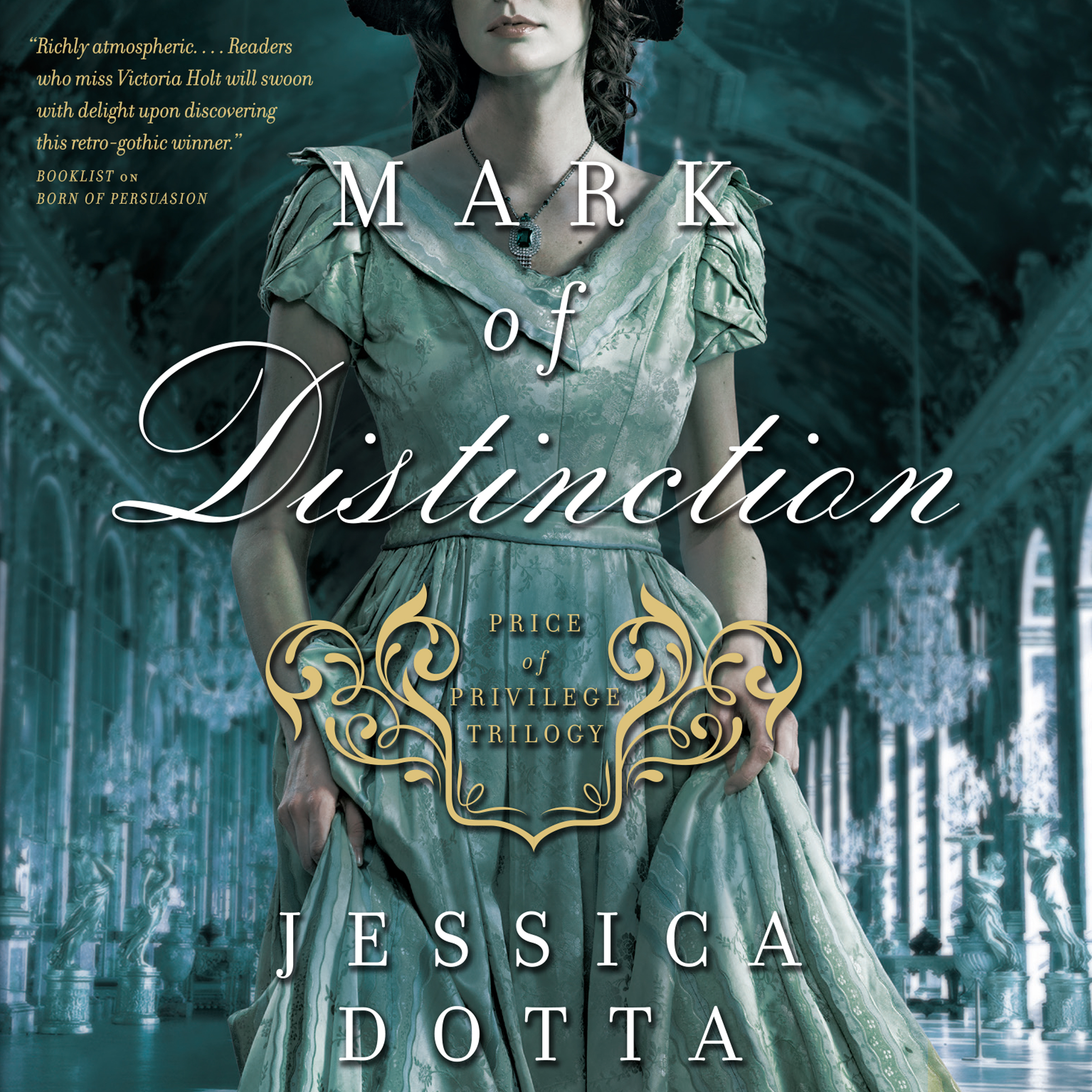 Printable Mark of Distinction Audiobook Cover Art