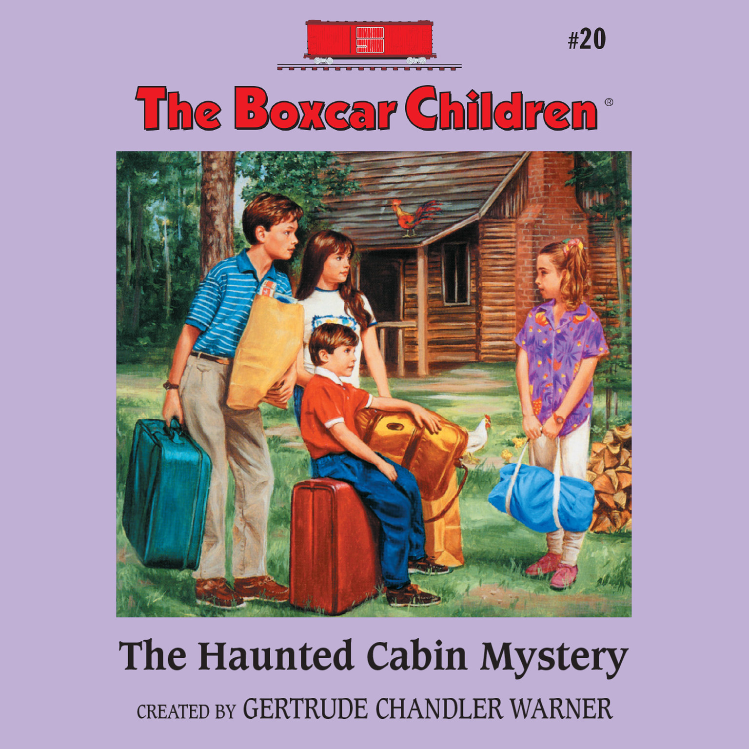 Printable The Haunted Cabin Mystery Audiobook Cover Art