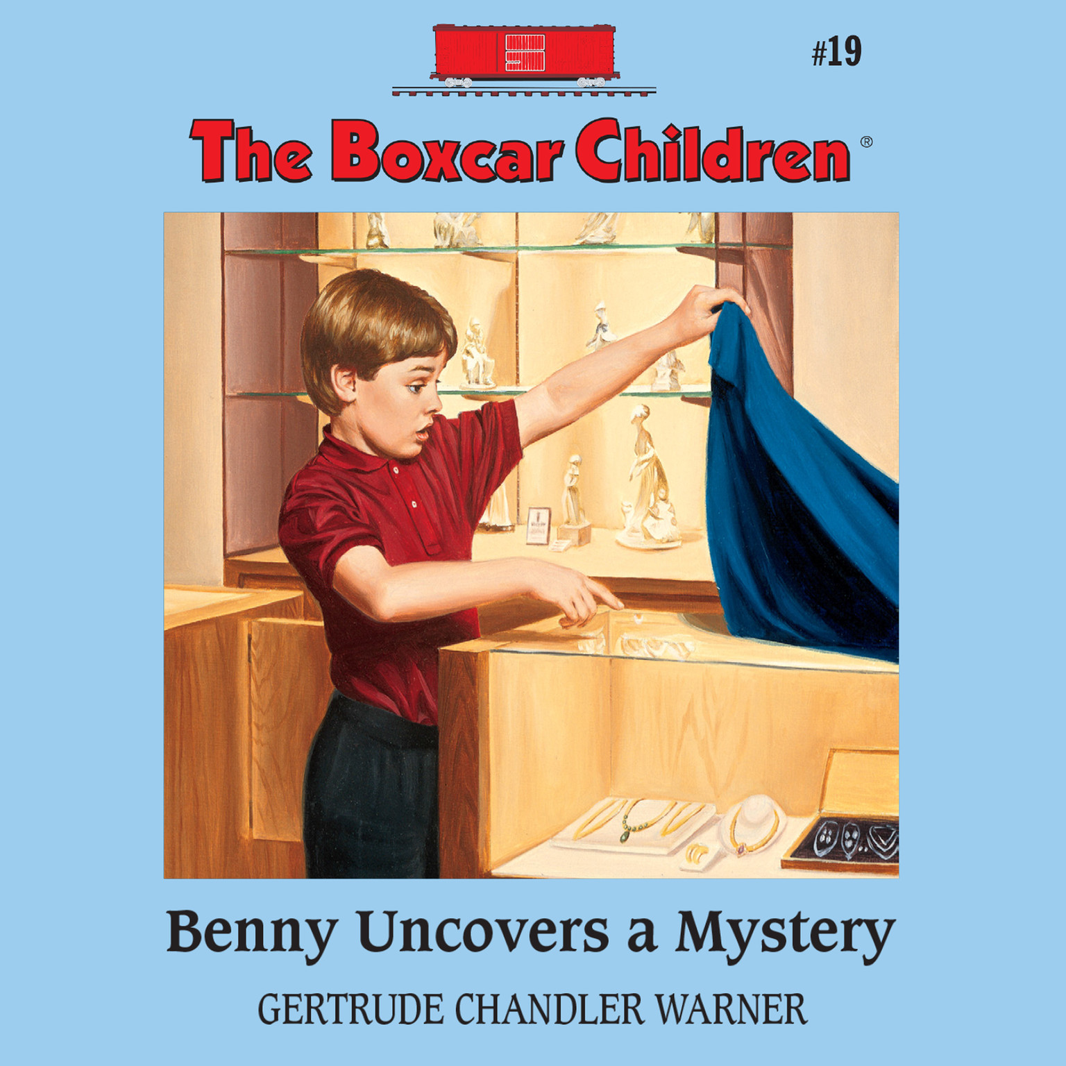 Printable Benny Uncovers a Mystery Audiobook Cover Art