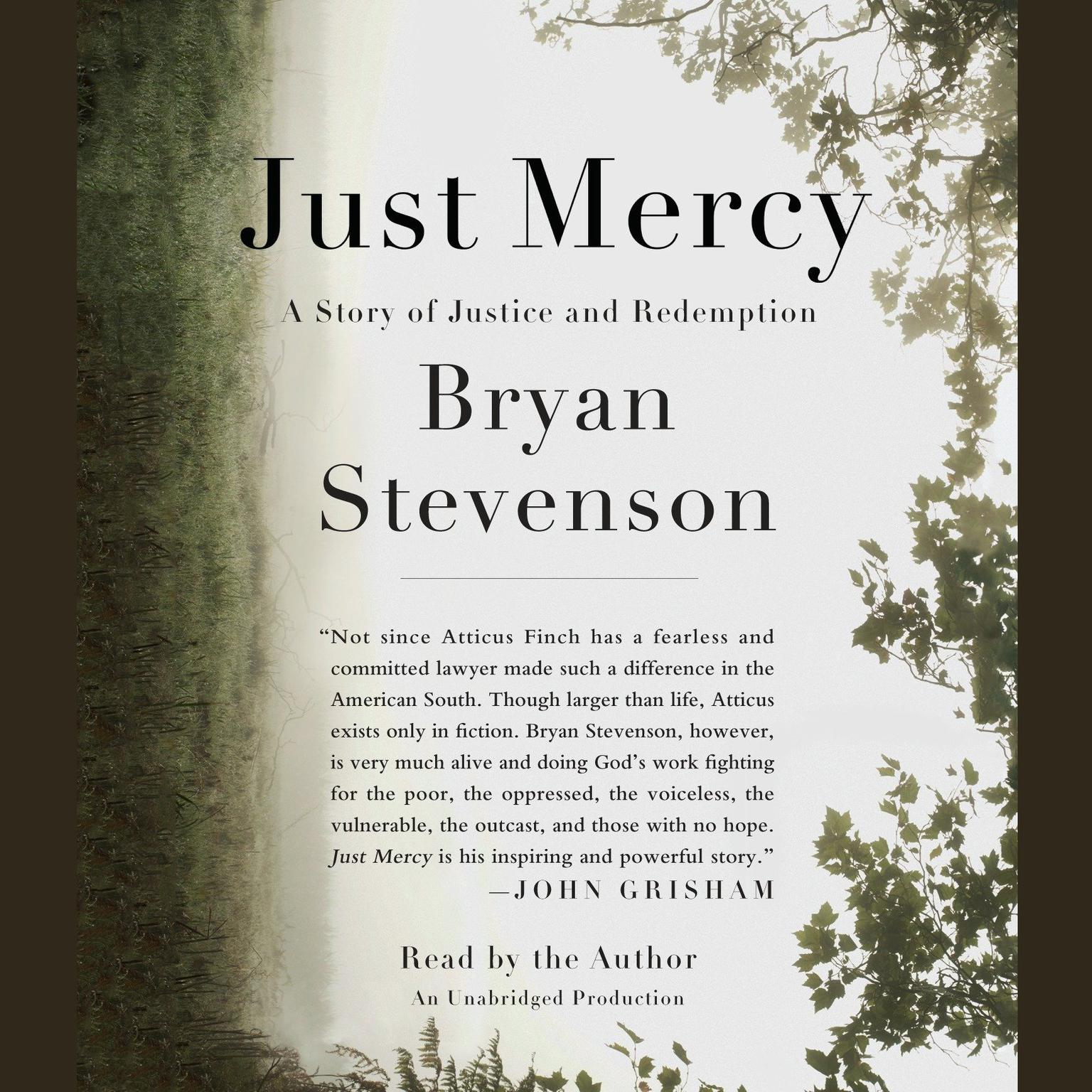 Printable Just Mercy: A Story of Justice and Redemption Audiobook Cover Art