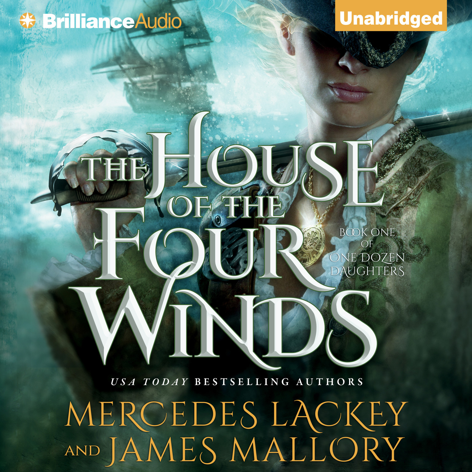 Printable The House of the Four Winds Audiobook Cover Art