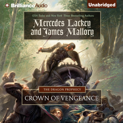 Crown of Vengeance Audiobook, by Mercedes Lackey