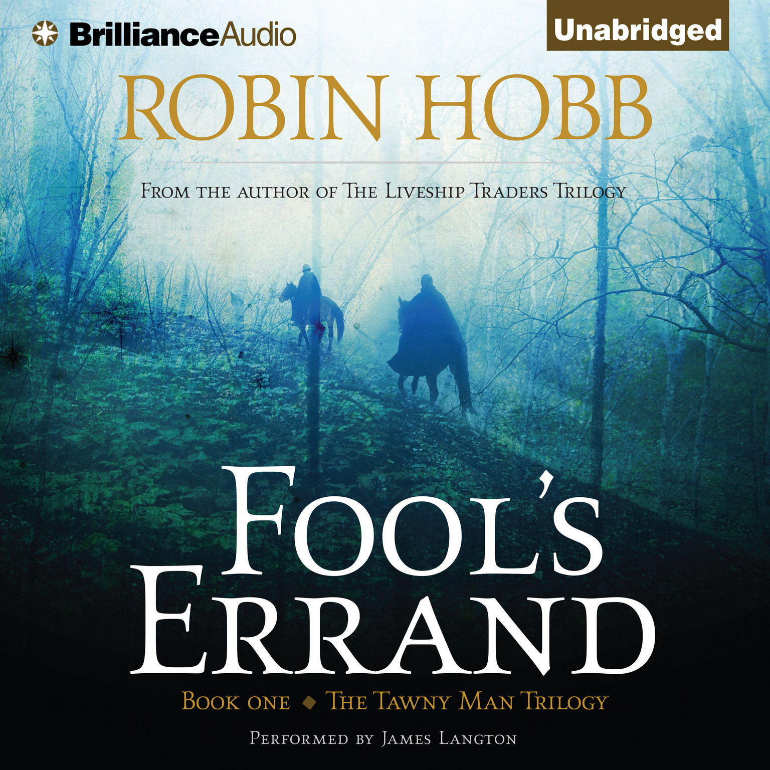 Printable Fool's Errand Audiobook Cover Art