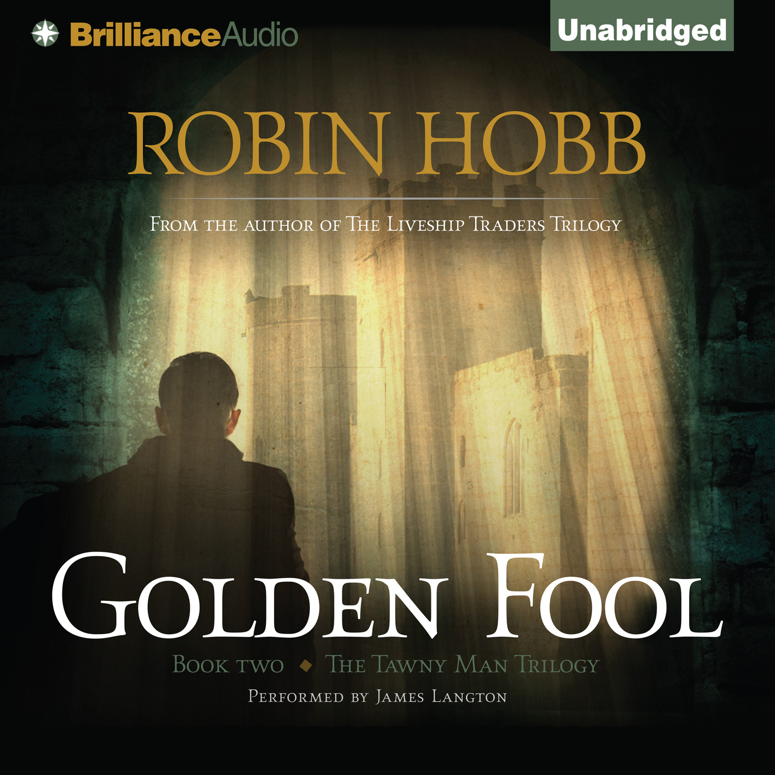 Printable Golden Fool Audiobook Cover Art