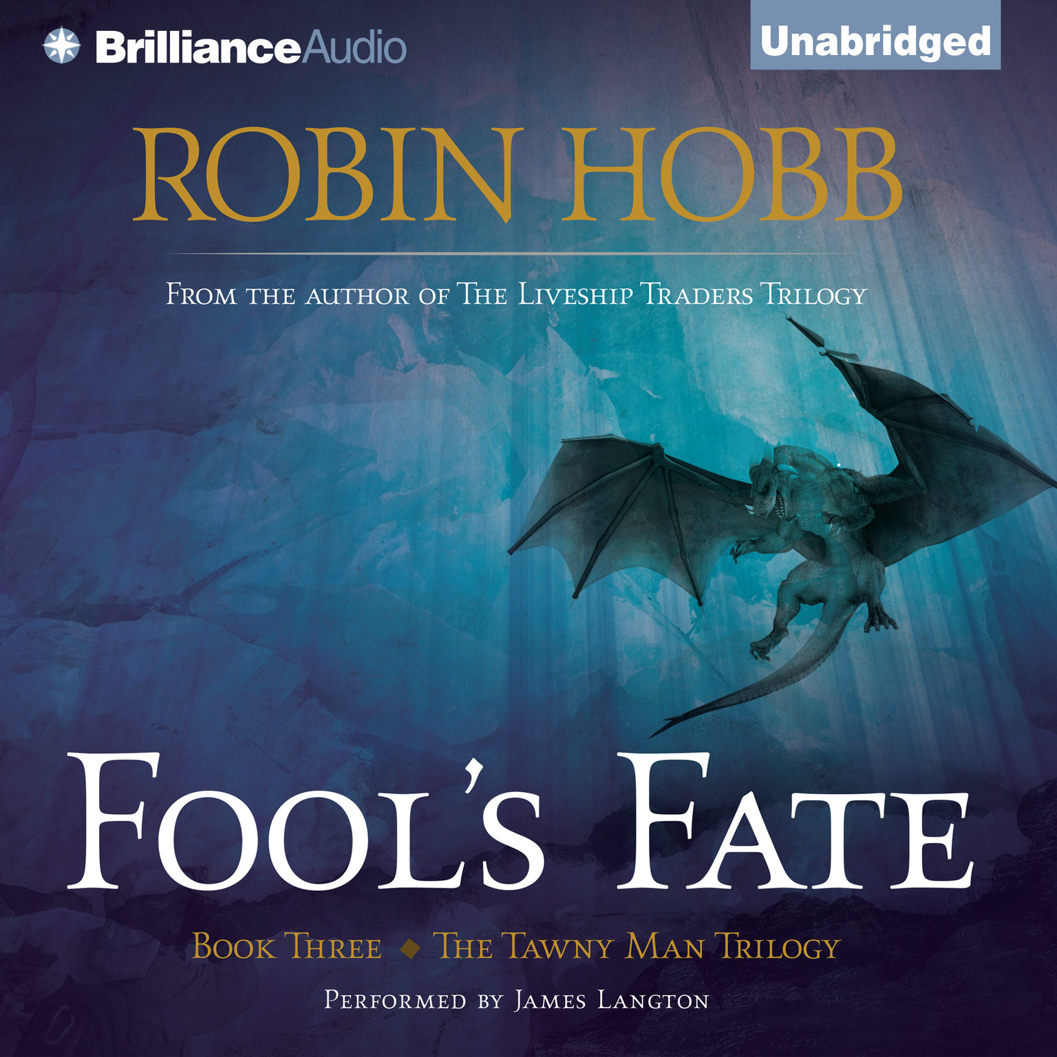 Printable Fool's Fate Audiobook Cover Art