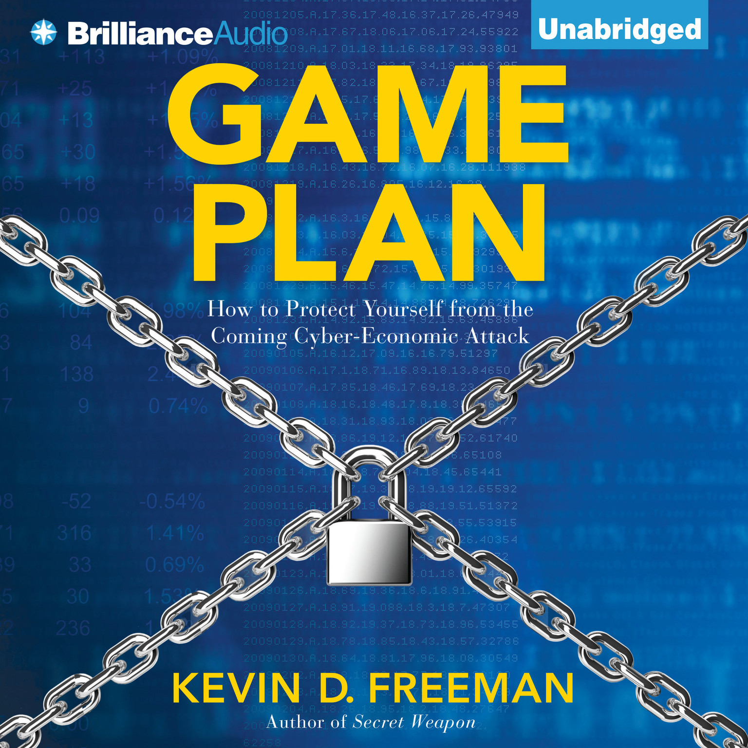 Printable Game Plan: How to Protect Yourself from the Coming Cyber-Economic Attack Audiobook Cover Art