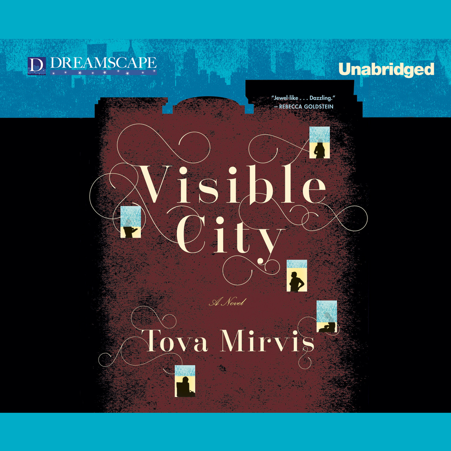 Printable Visible City Audiobook Cover Art