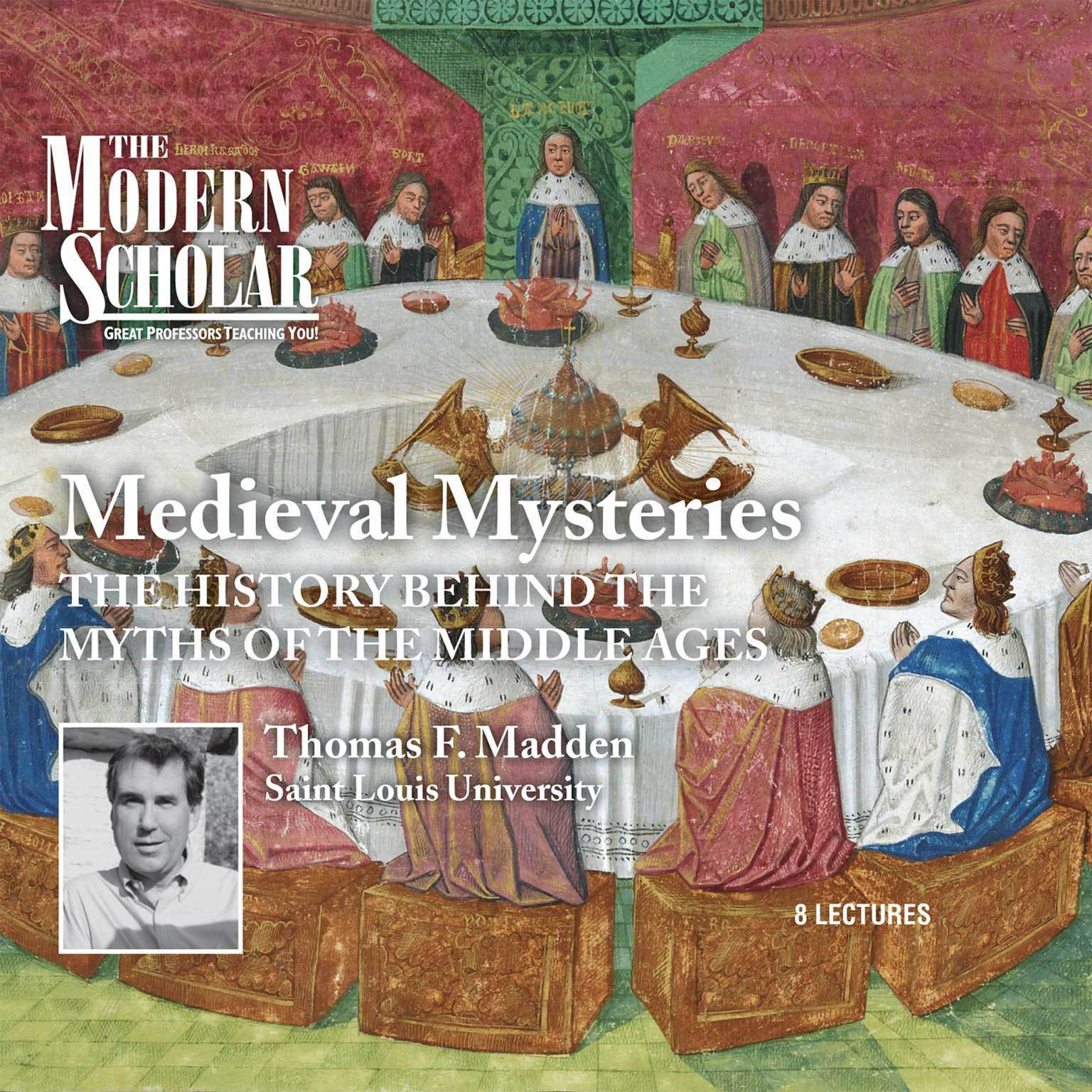 Printable Medieval Mysteries: The History behind the Myths of the Middle Ages Audiobook Cover Art