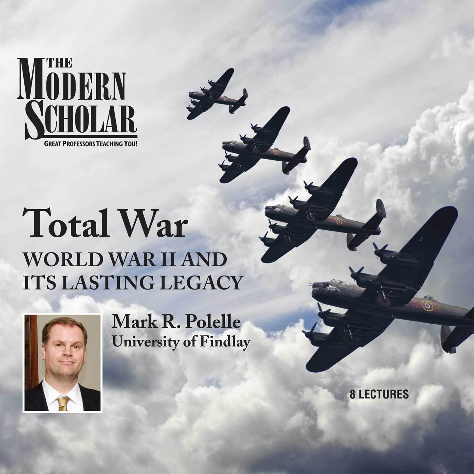 Printable Total War: World War II and Its Lasting Legacy Audiobook Cover Art