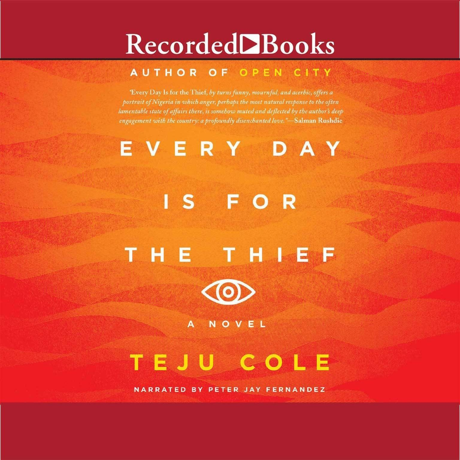 Printable Every Day Is for the Thief Audiobook Cover Art
