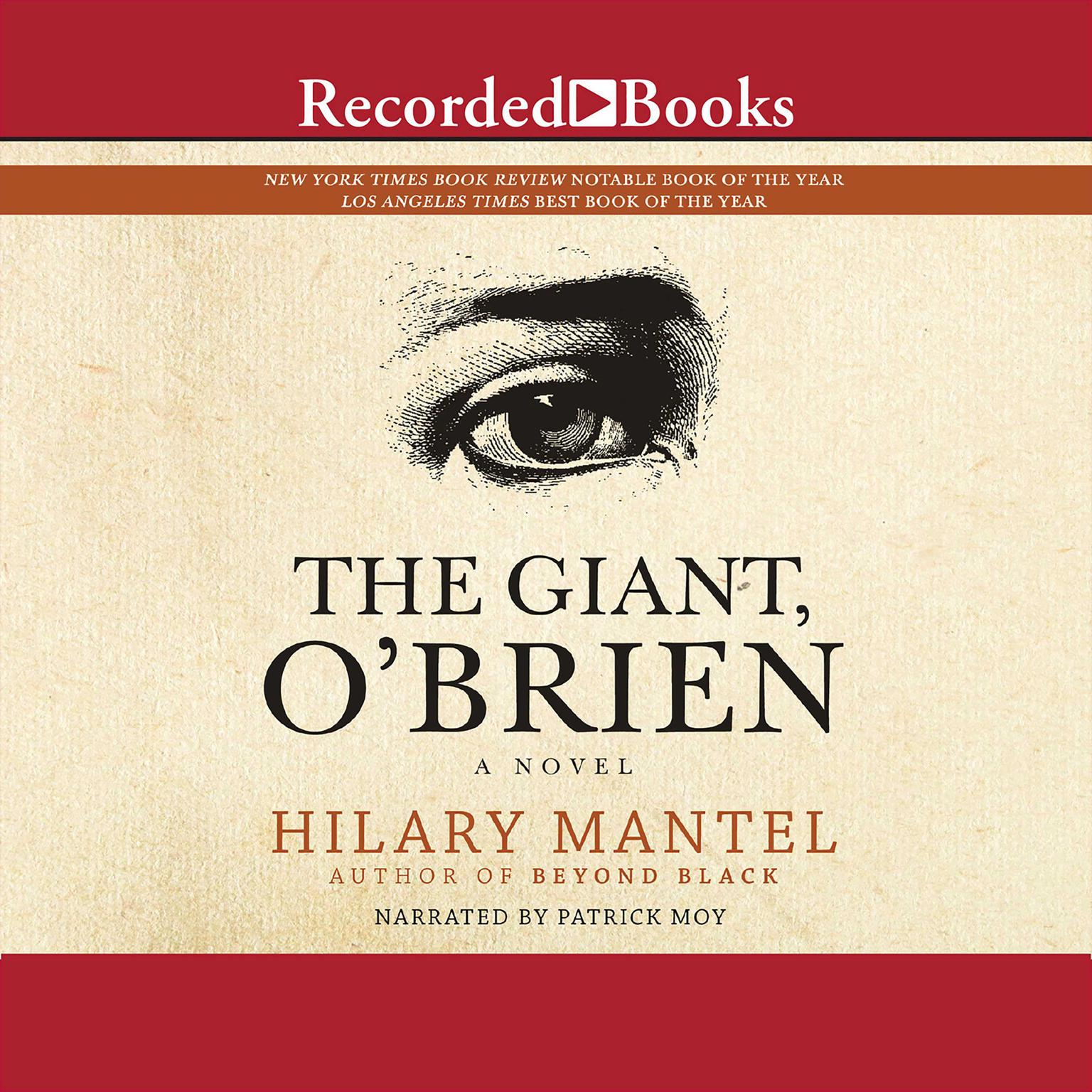 Printable The Giant, O'Brien Audiobook Cover Art