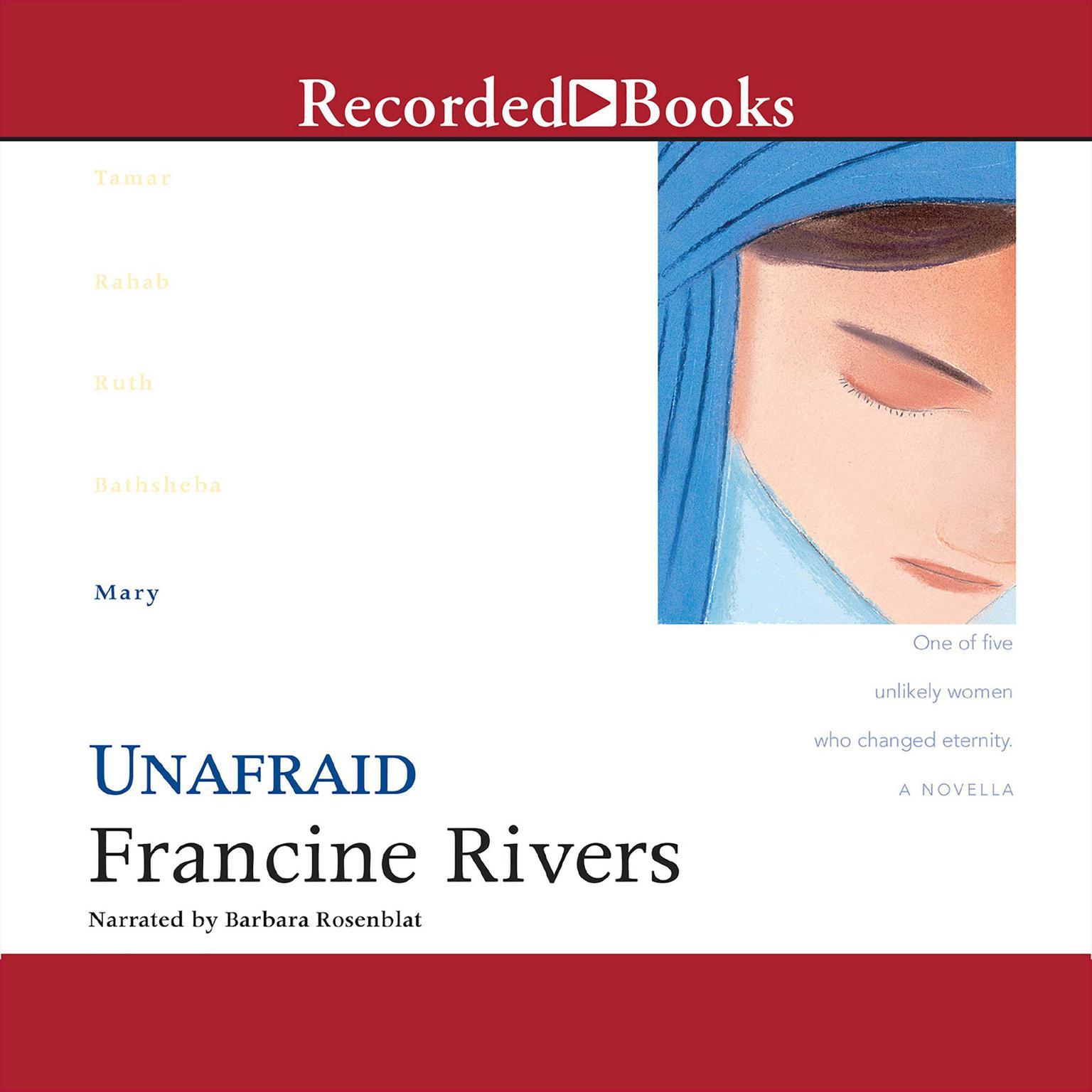 Printable Unafraid: Mary Audiobook Cover Art