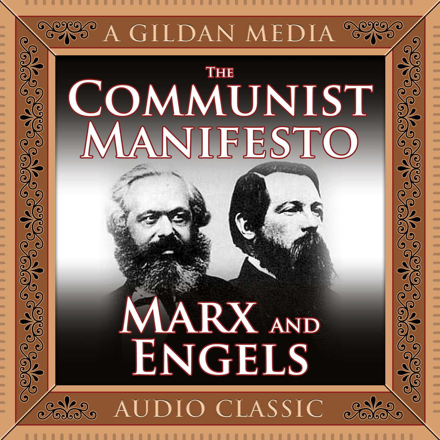 Printable The Communist Manifesto Audiobook Cover Art