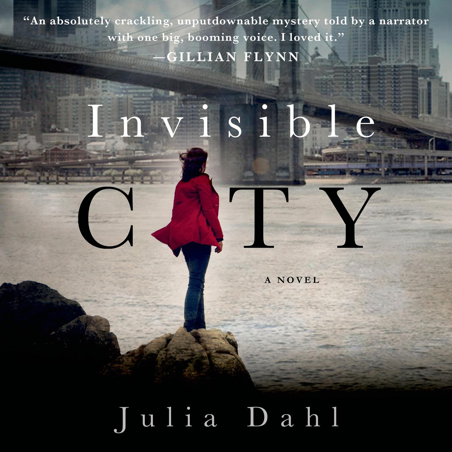 Printable Invisible City: A Novel Audiobook Cover Art