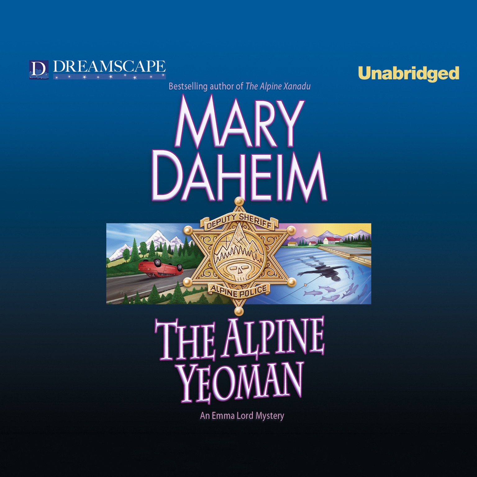 Printable The Alpine Yeoman: An Emma Lord Mystery Audiobook Cover Art