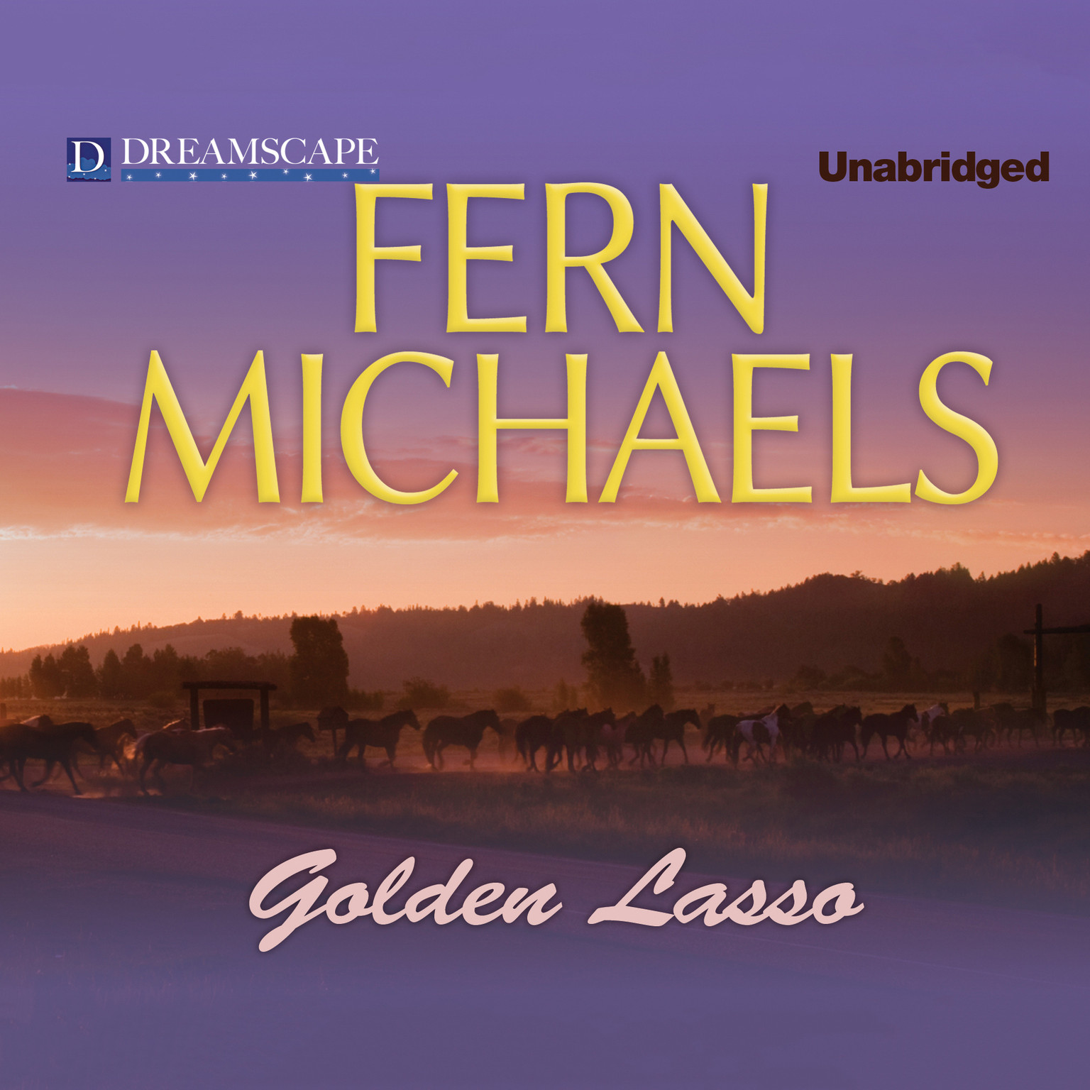 Printable Golden Lasso Audiobook Cover Art