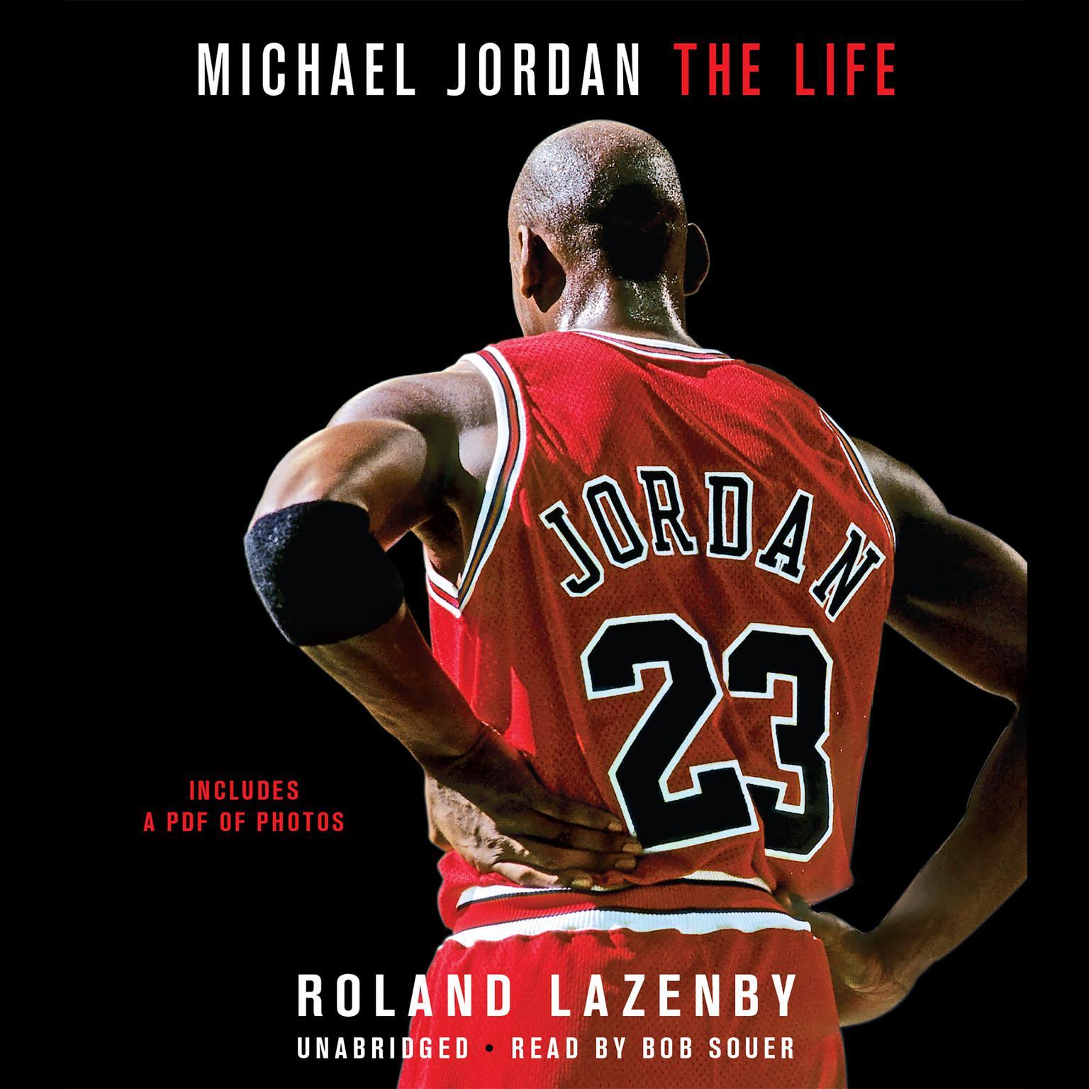 Printable Michael Jordan: The Life Audiobook Cover Art