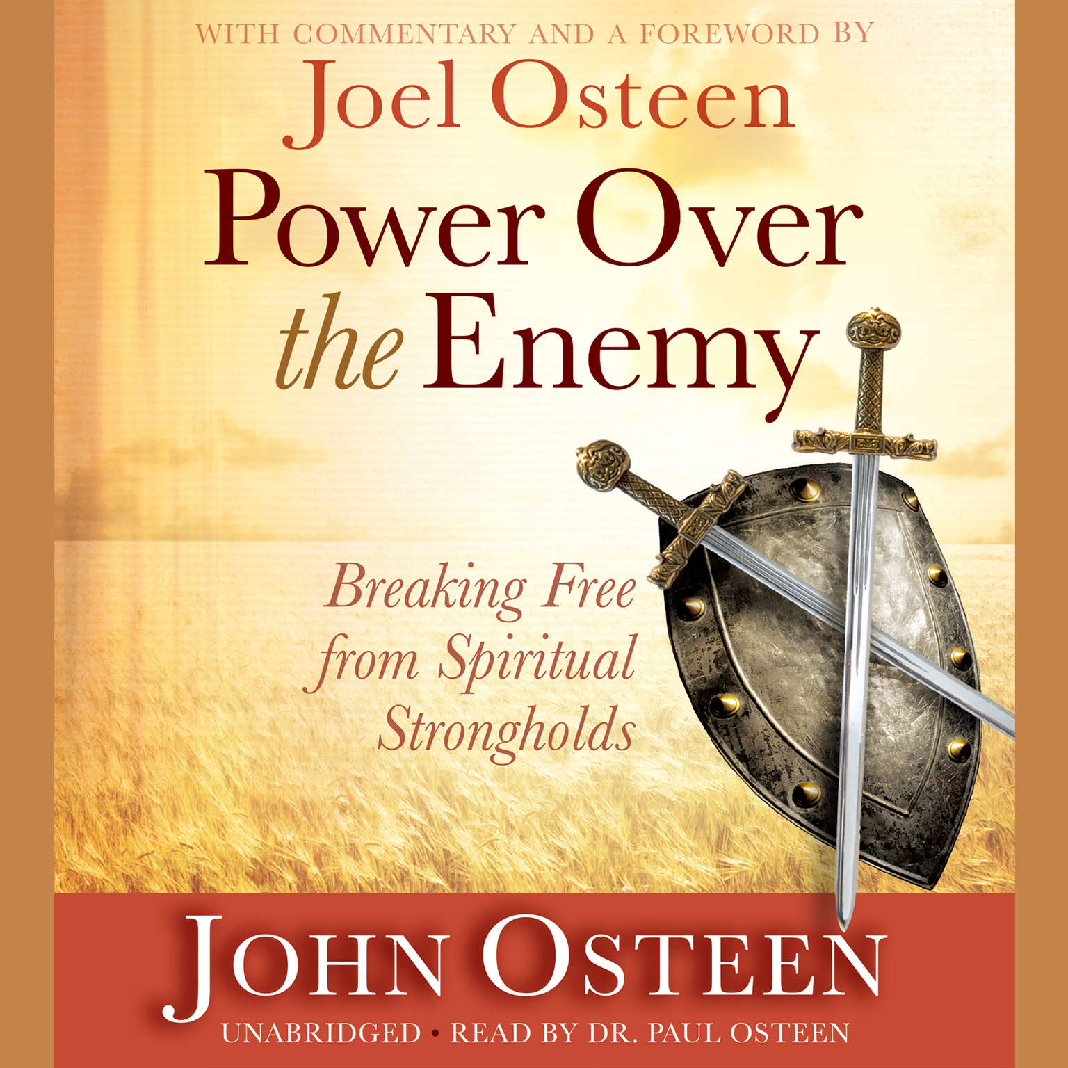Printable Power over the Enemy: Breaking Free from Spiritual Strongholds Audiobook Cover Art