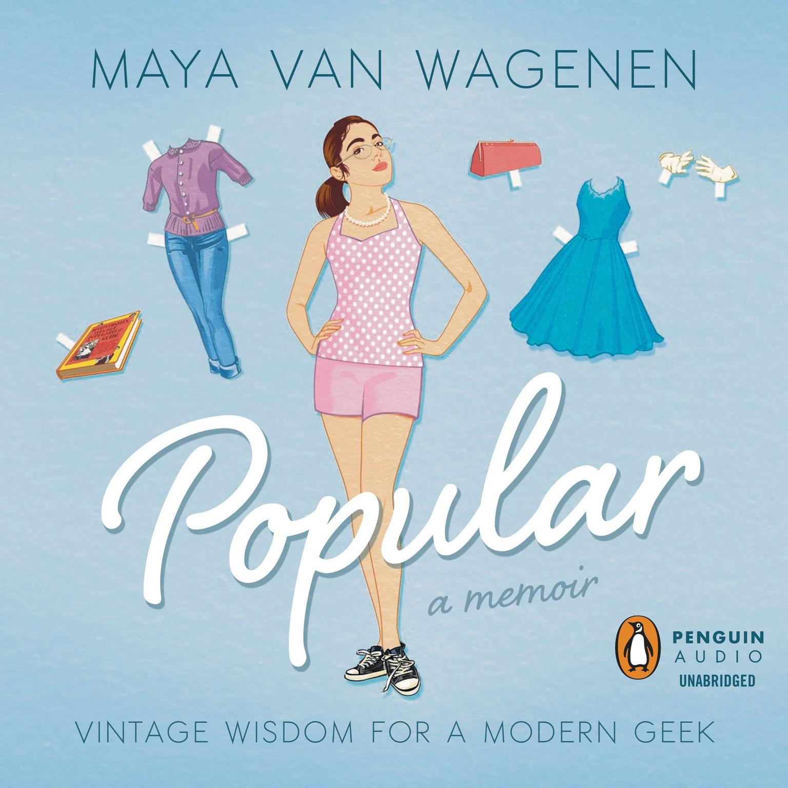 Printable Popular: Vintage Wisdom for a Modern Geek Audiobook Cover Art