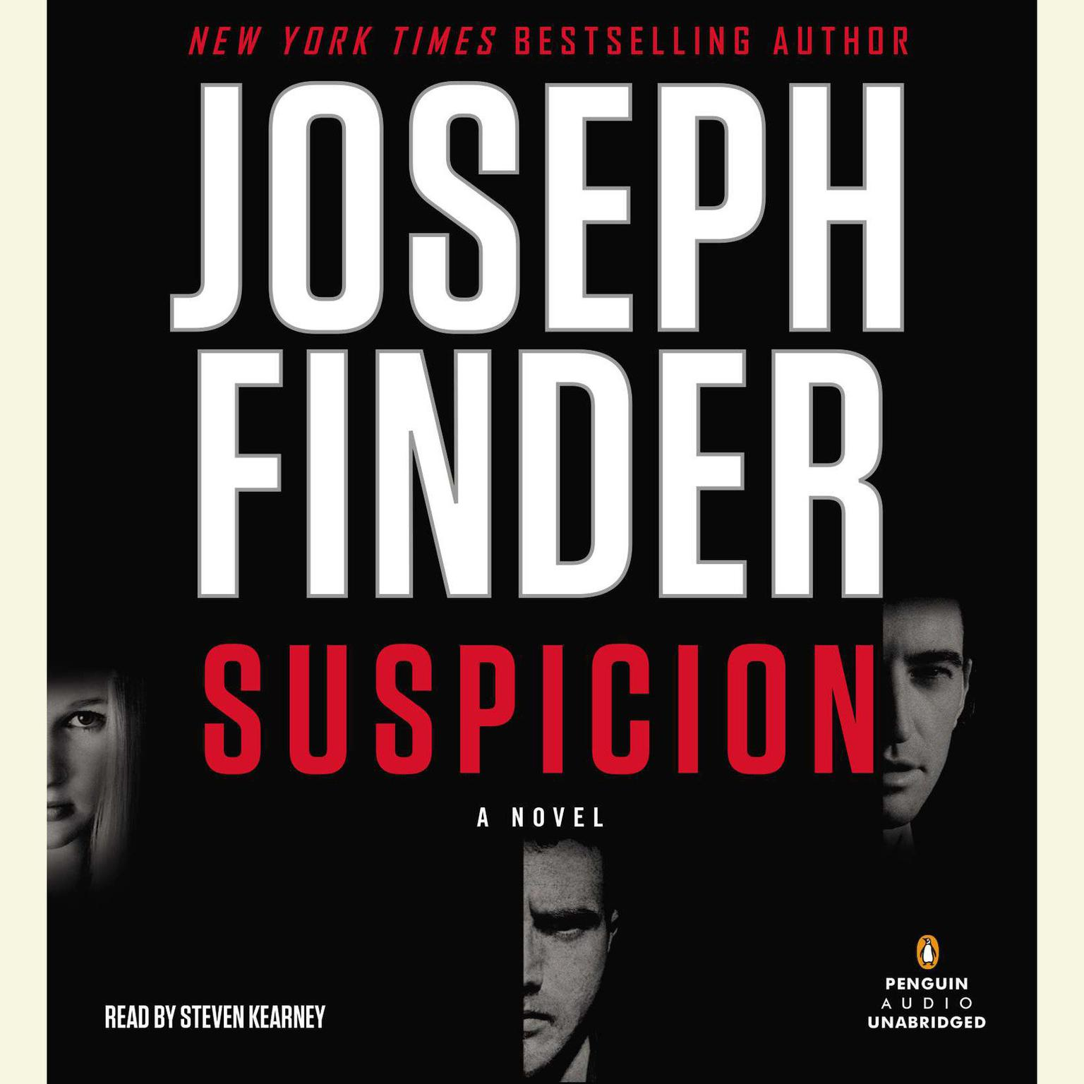 Printable Suspicion Audiobook Cover Art