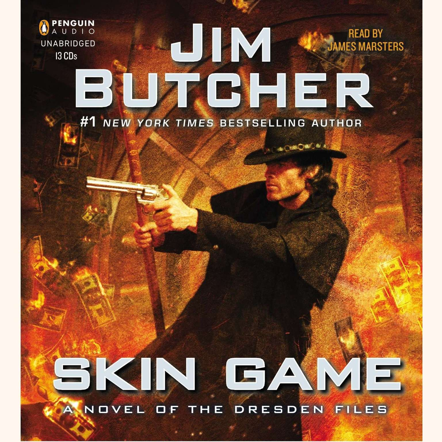 Printable Skin Game: A Novel of the Dresden Files Audiobook Cover Art