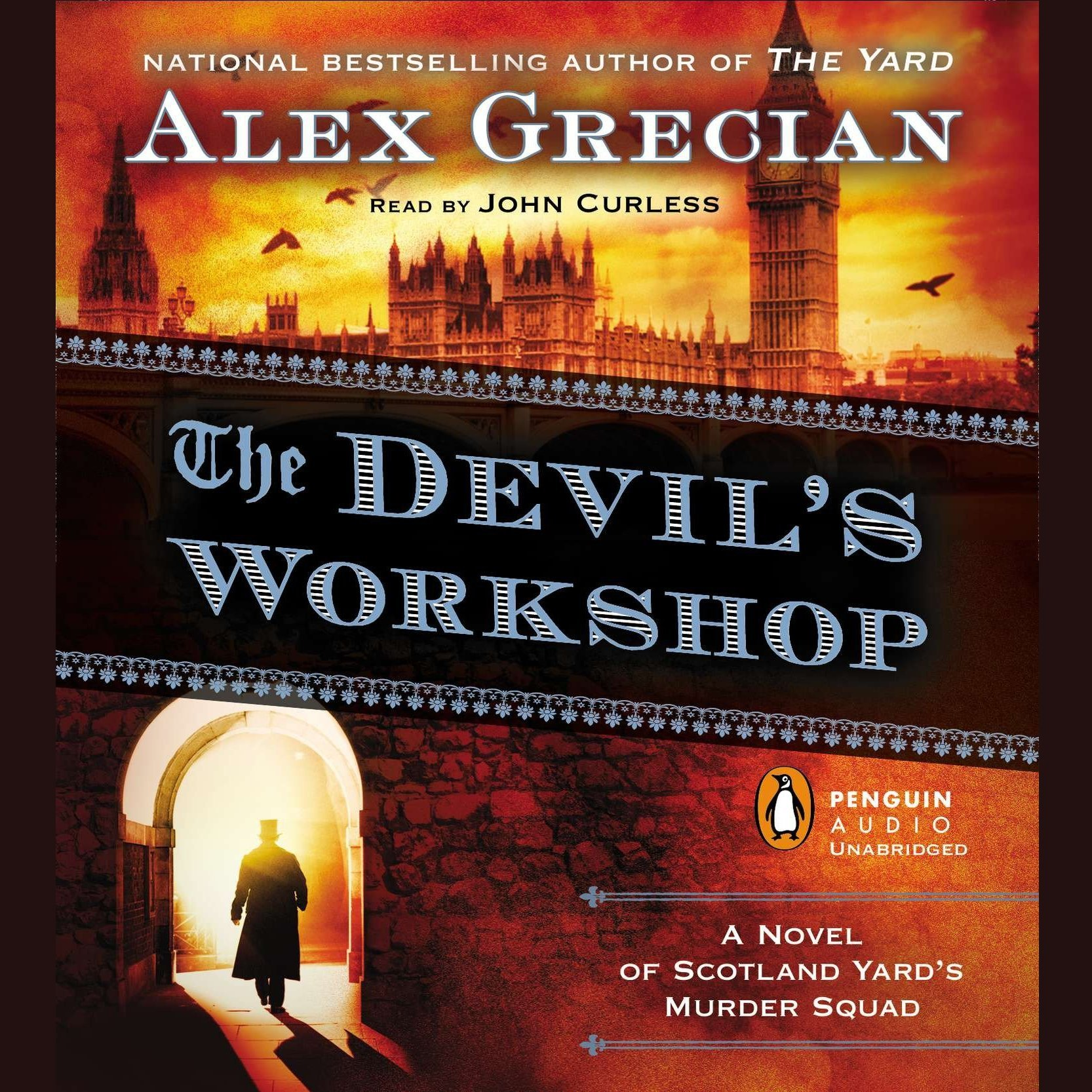 Printable The Devil's Workshop: A Novel of Scotland Yard's Murder Squad Audiobook Cover Art