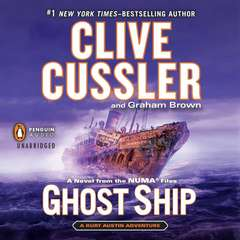 Ghost Ship Audiobook, by Clive Cussler, Graham Brown