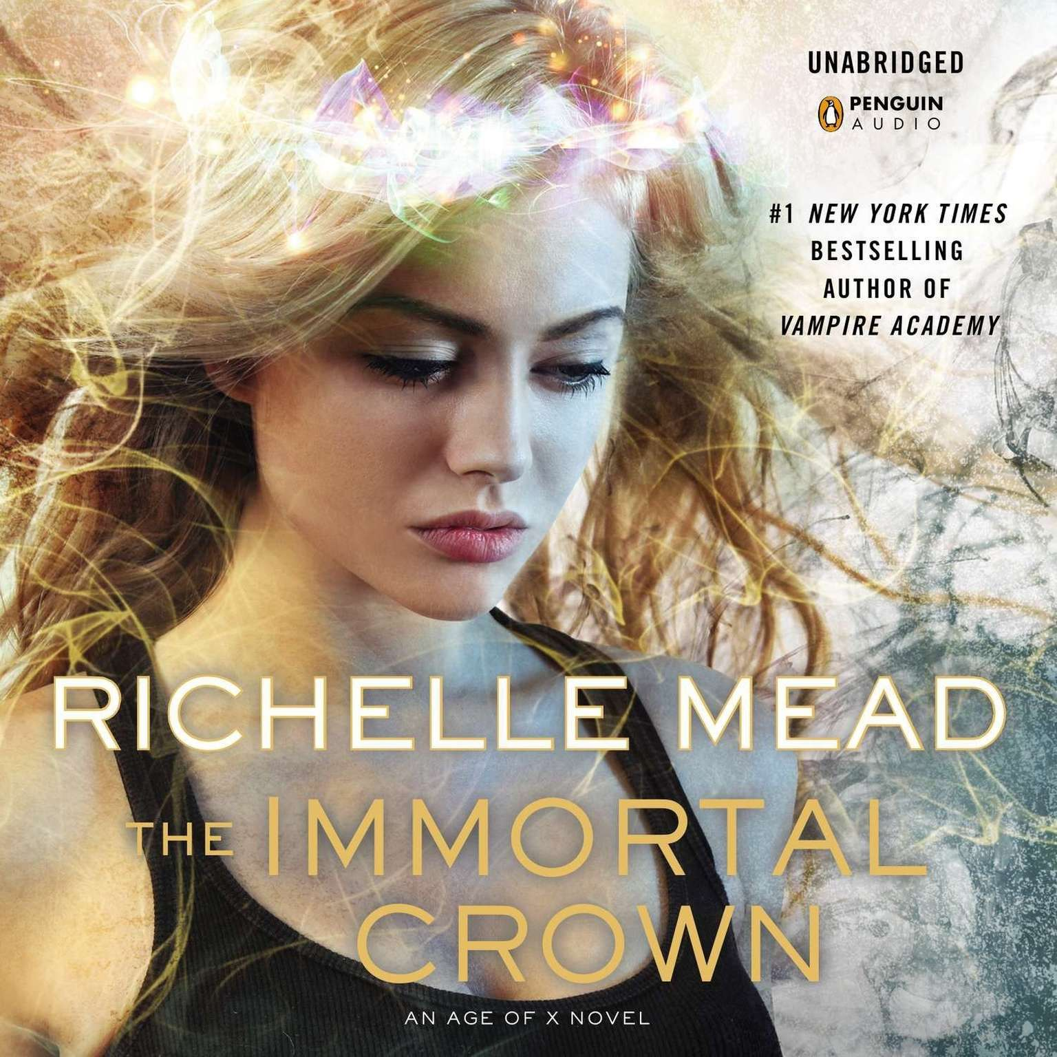 Printable The Immortal Crown: An Age of X Novel Audiobook Cover Art
