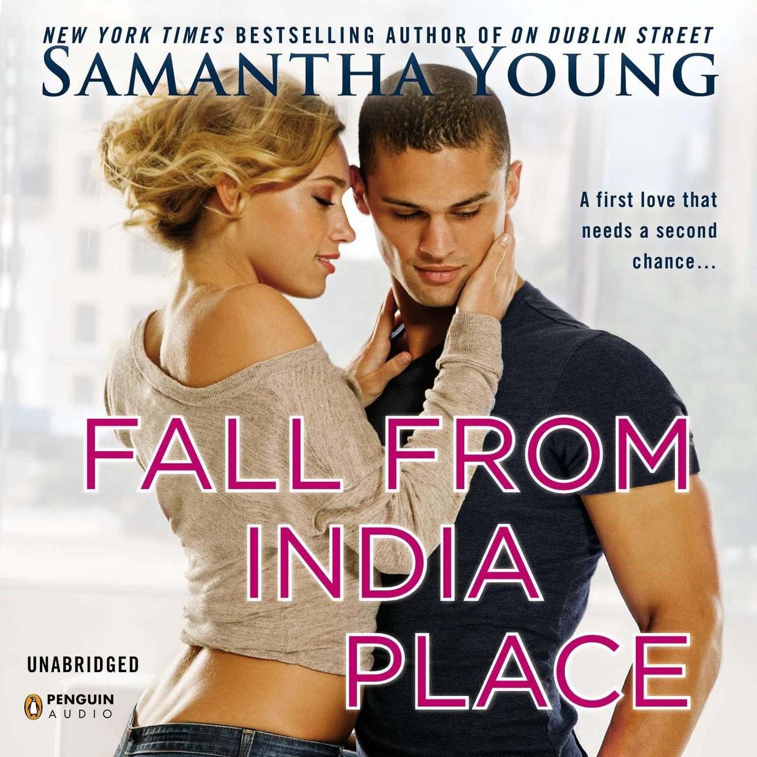 Printable Fall From India Place Audiobook Cover Art