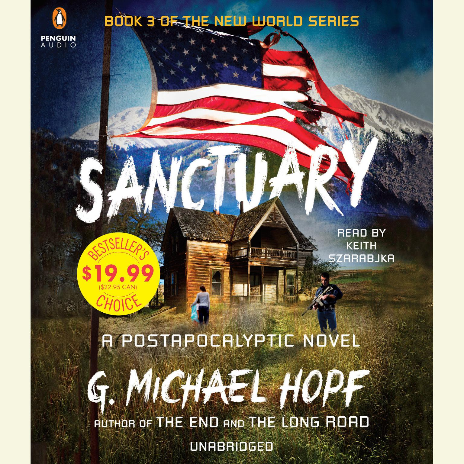 Printable Sanctuary: A Postapocalyptic Novel Audiobook Cover Art