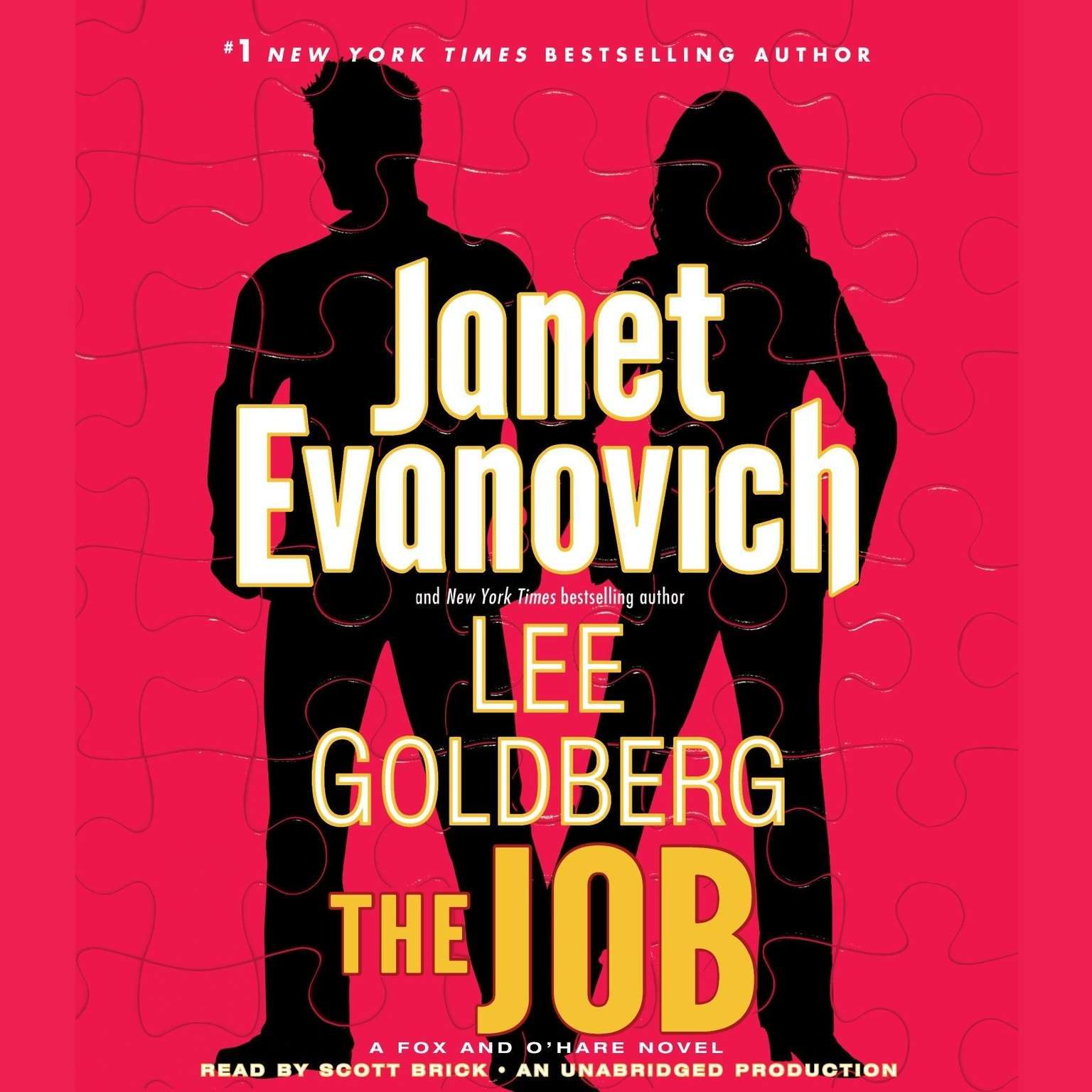Printable The Job: A Fox and O'Hare Novel Audiobook Cover Art