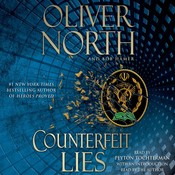 Counterfeit Lies Audiobook, by Oliver North