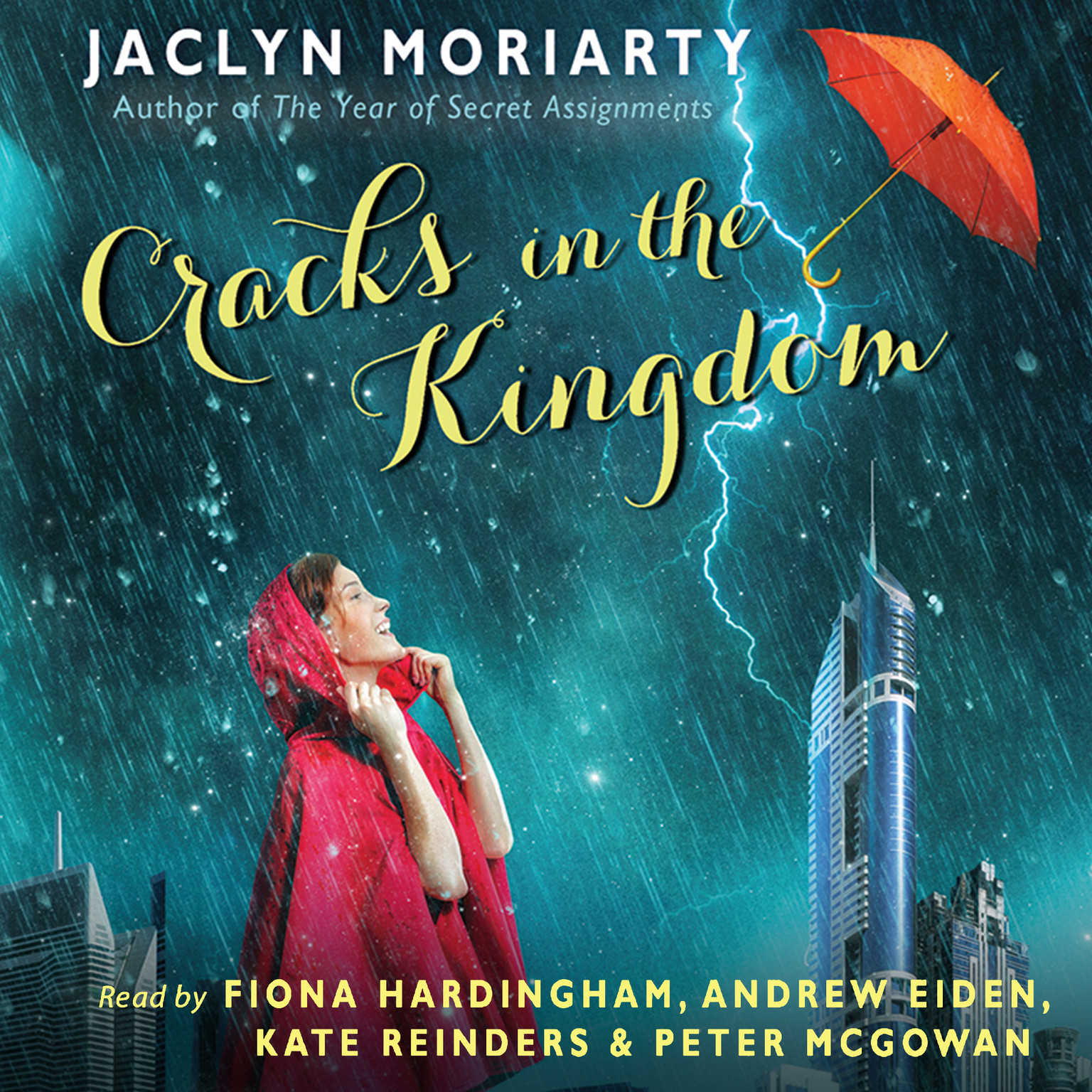 Printable The Cracks in the Kingdom Audiobook Cover Art