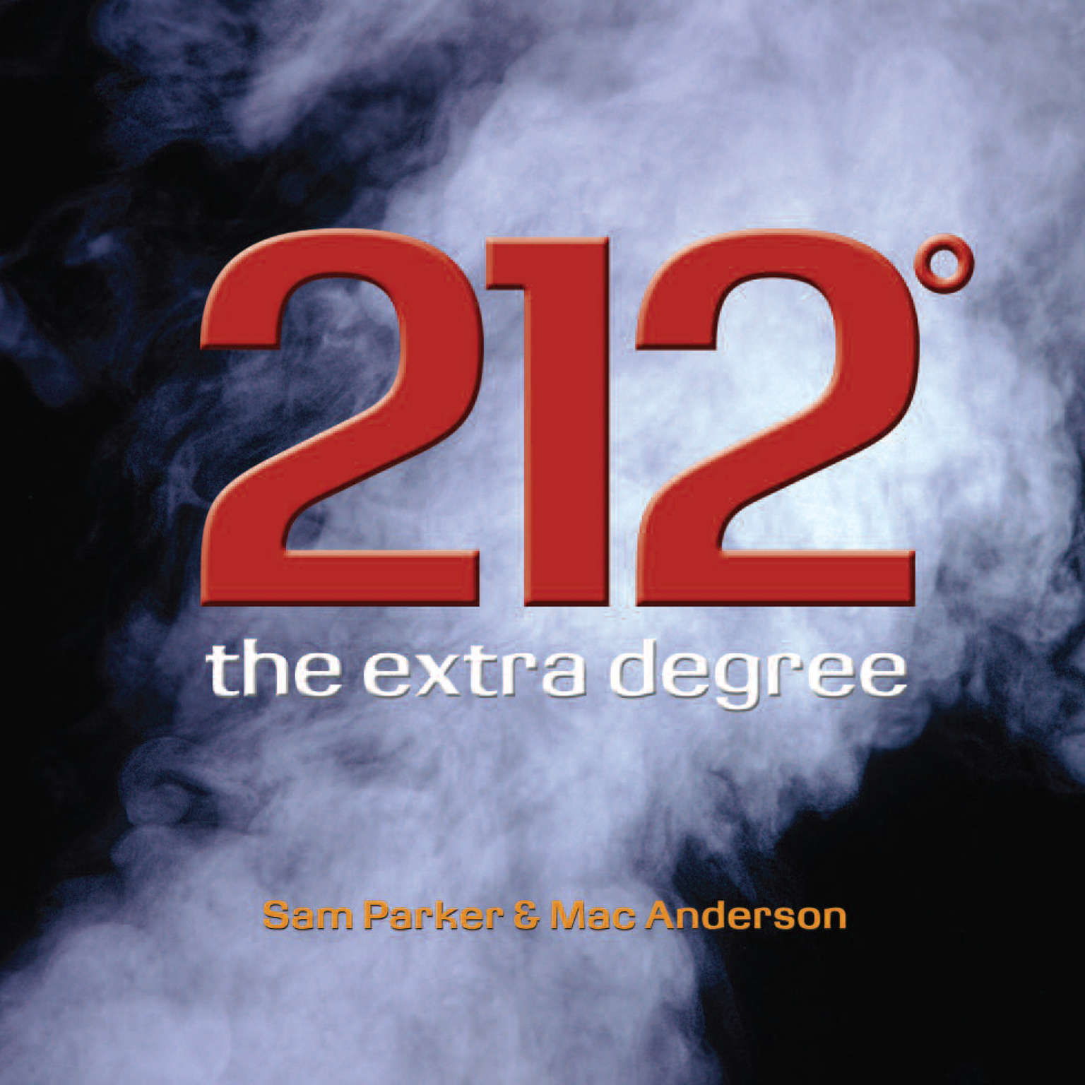Printable 212°: The Extra Degree Audiobook Cover Art