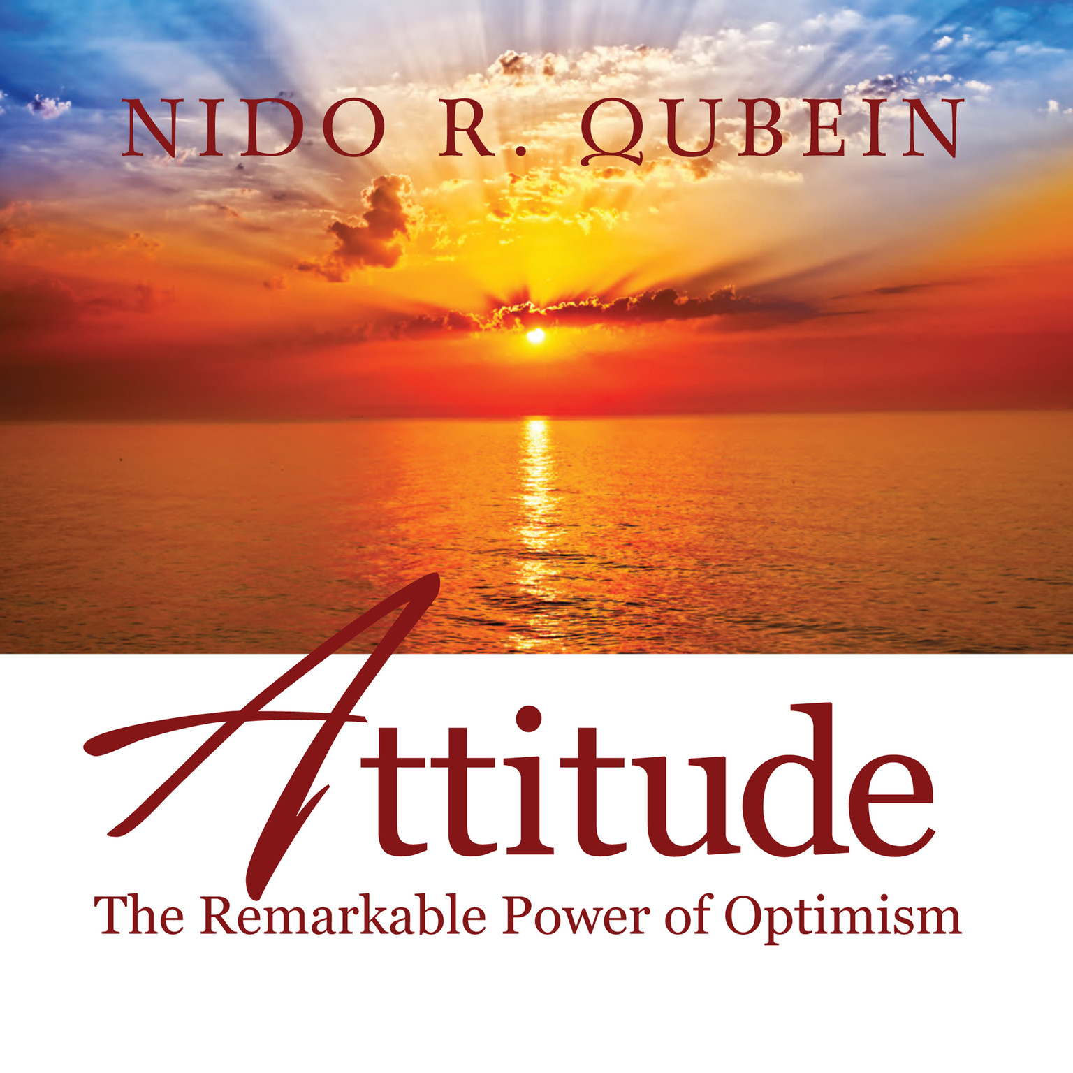 Printable Attitude: The Remarkable Power of Optimism Audiobook Cover Art