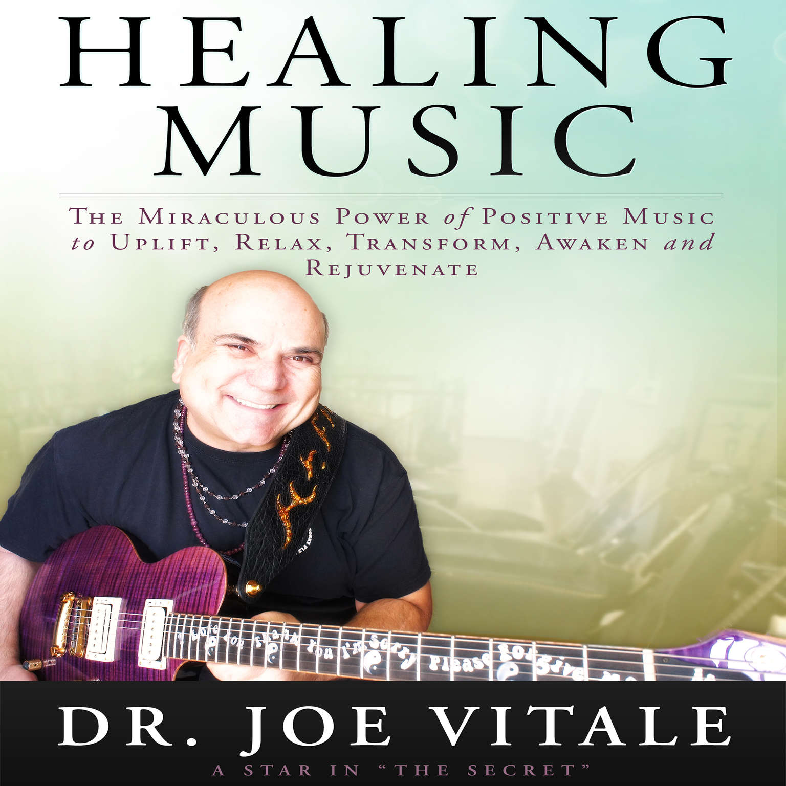 Printable Healing Music Audiobook Cover Art