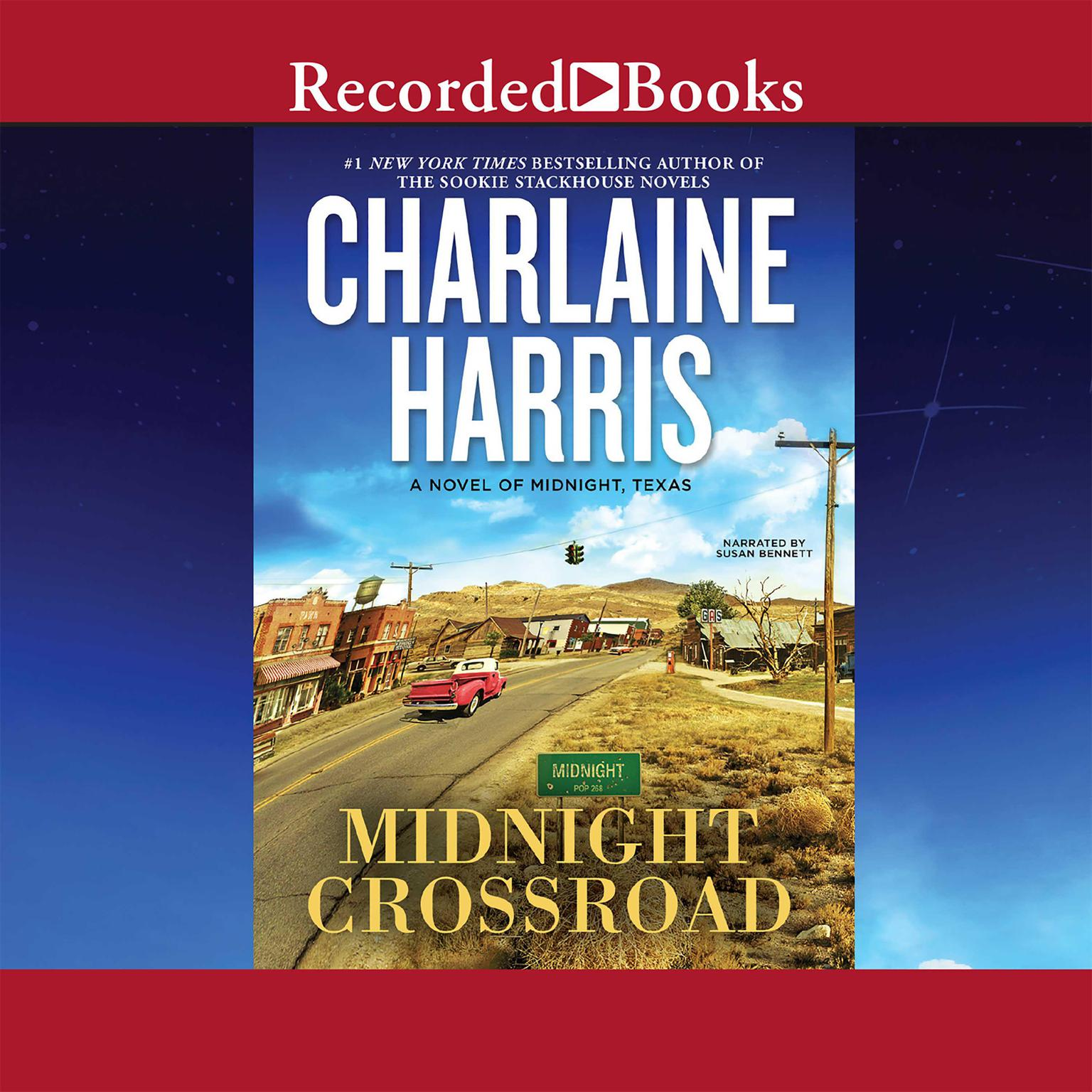 Printable Midnight Crossroad Audiobook Cover Art