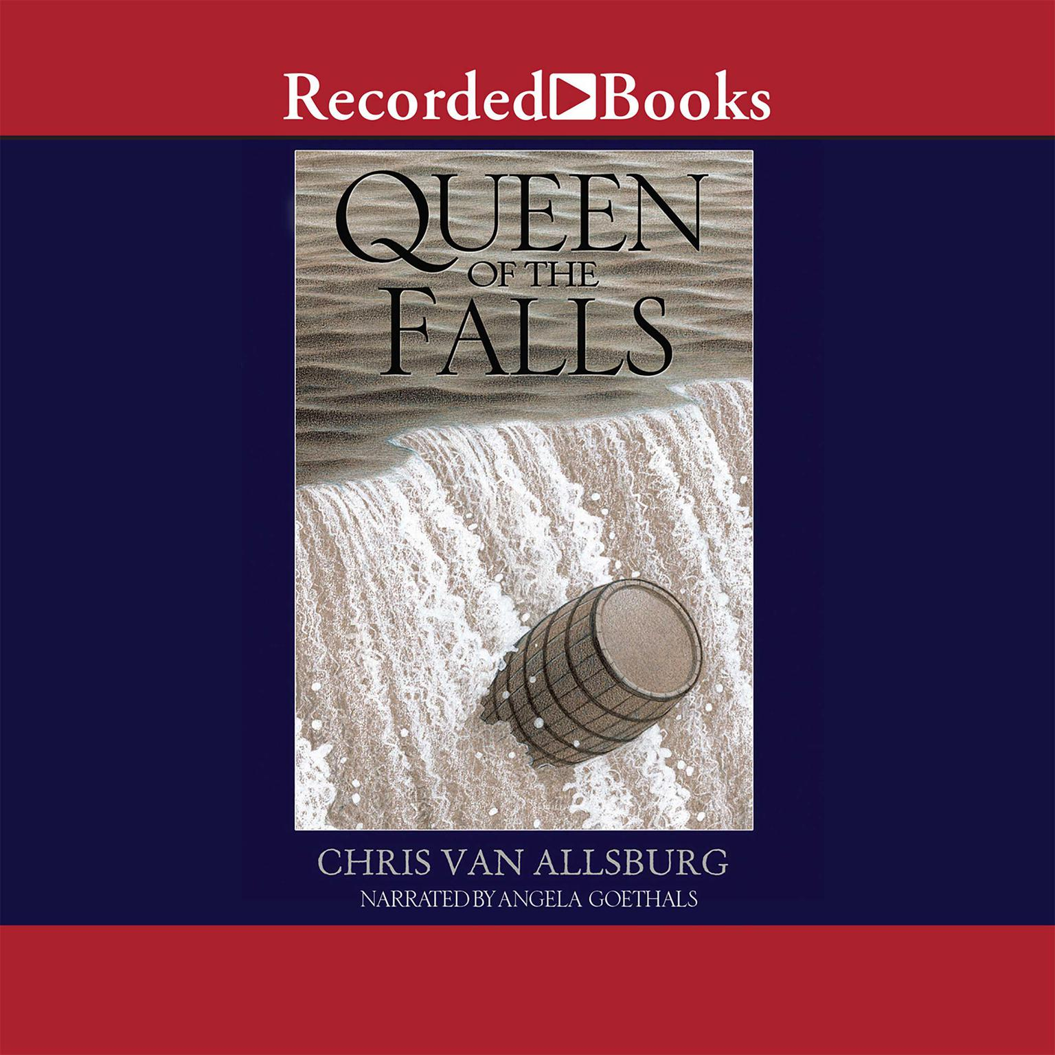 Printable Queen of the Falls Audiobook Cover Art