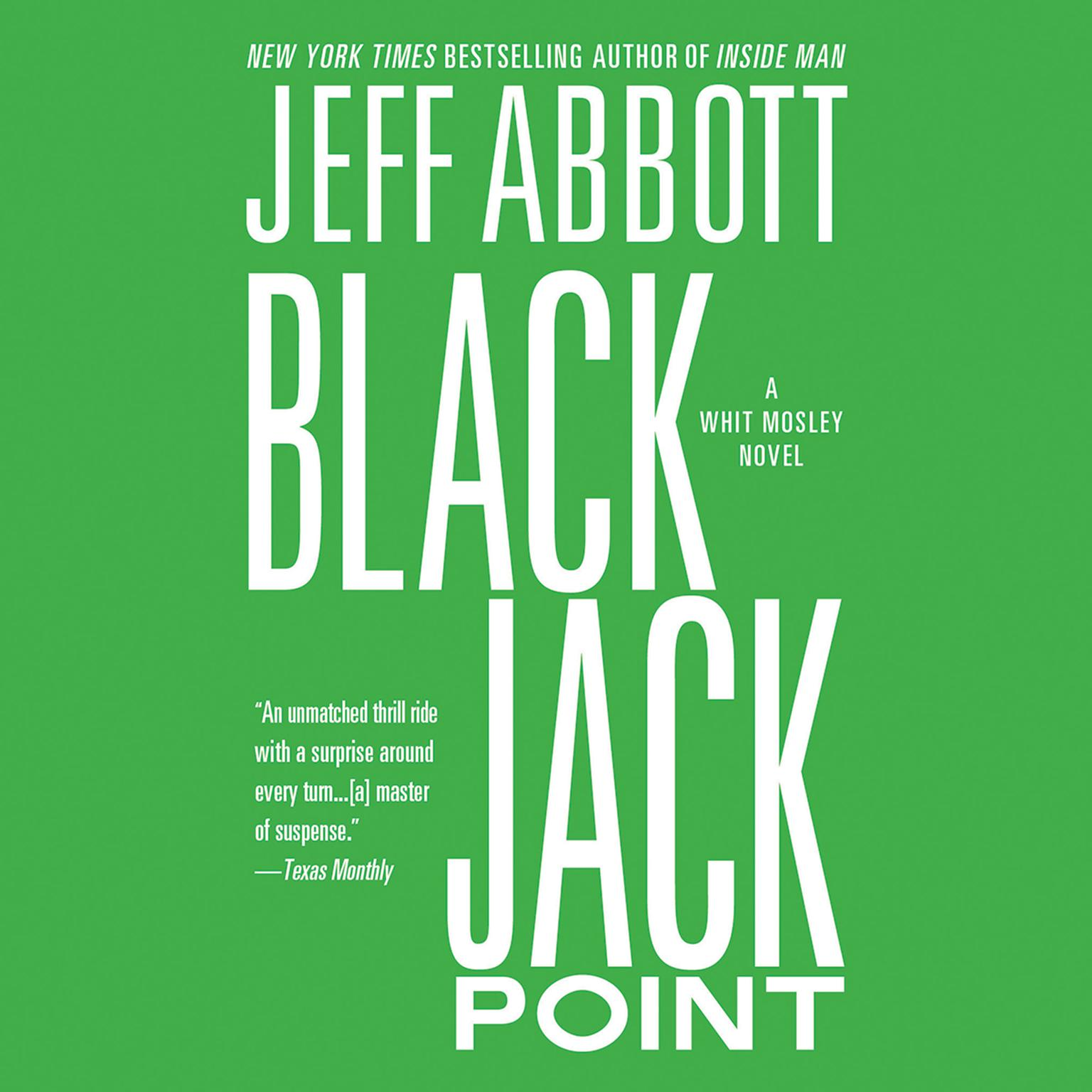 Printable Black Jack Point Audiobook Cover Art